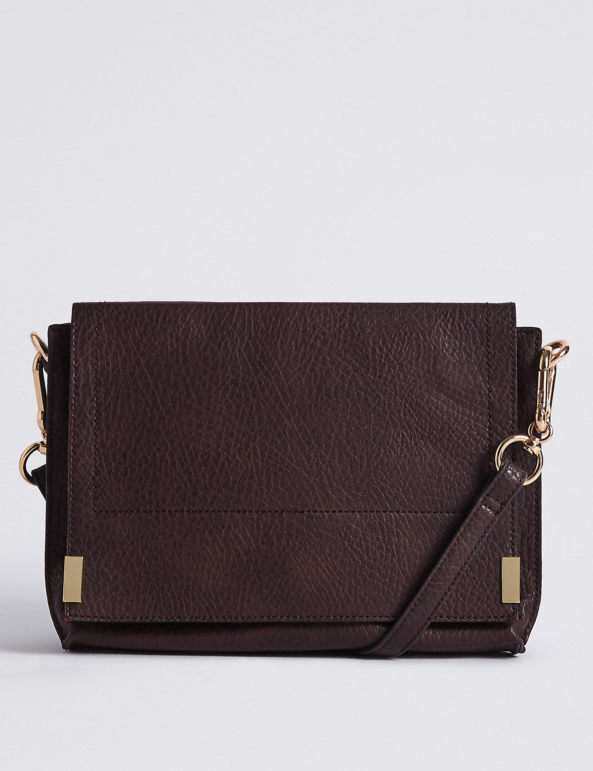 M&S Collection 3 Part Compartment Cross Body Bag