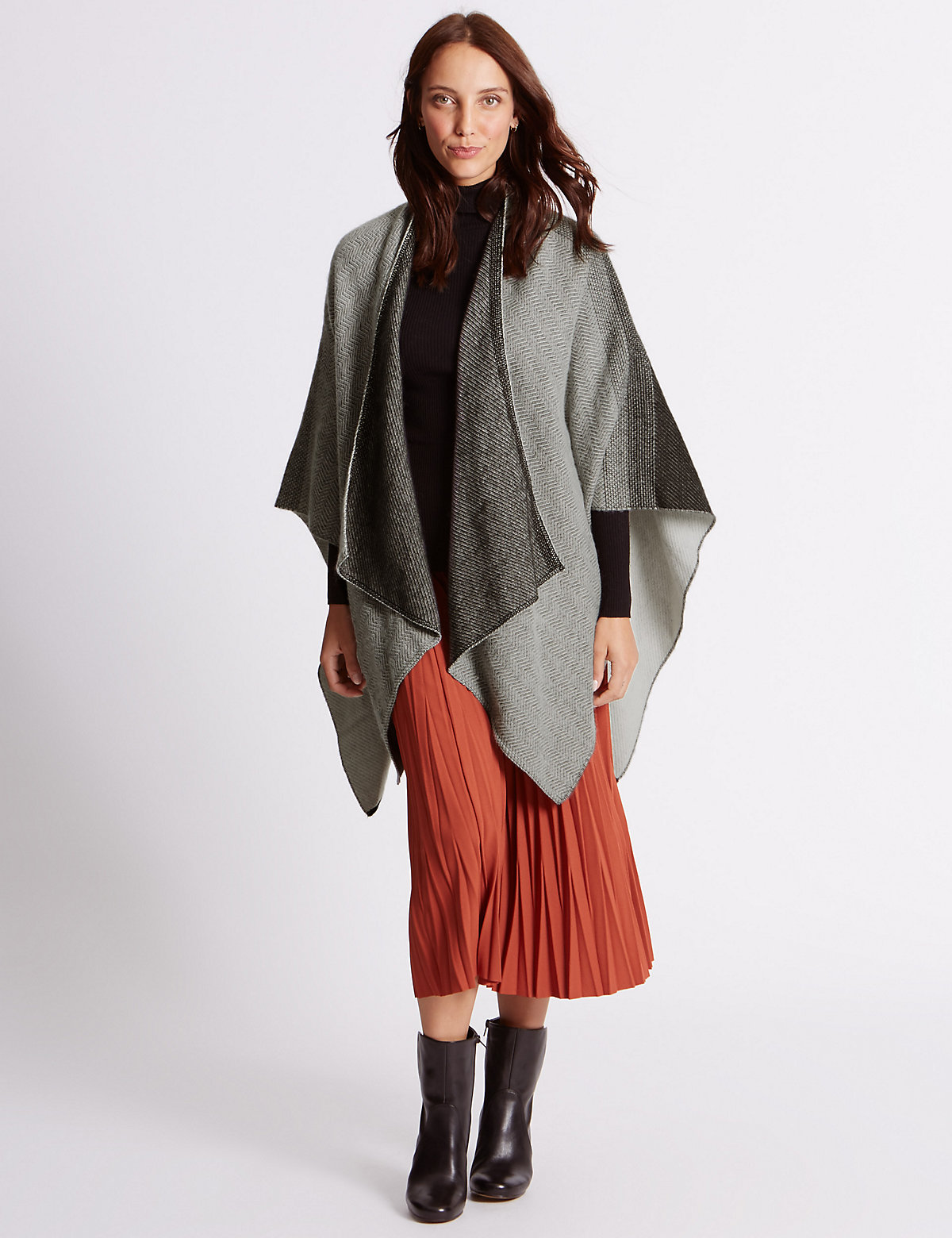 M&S Collection Textured Wrap