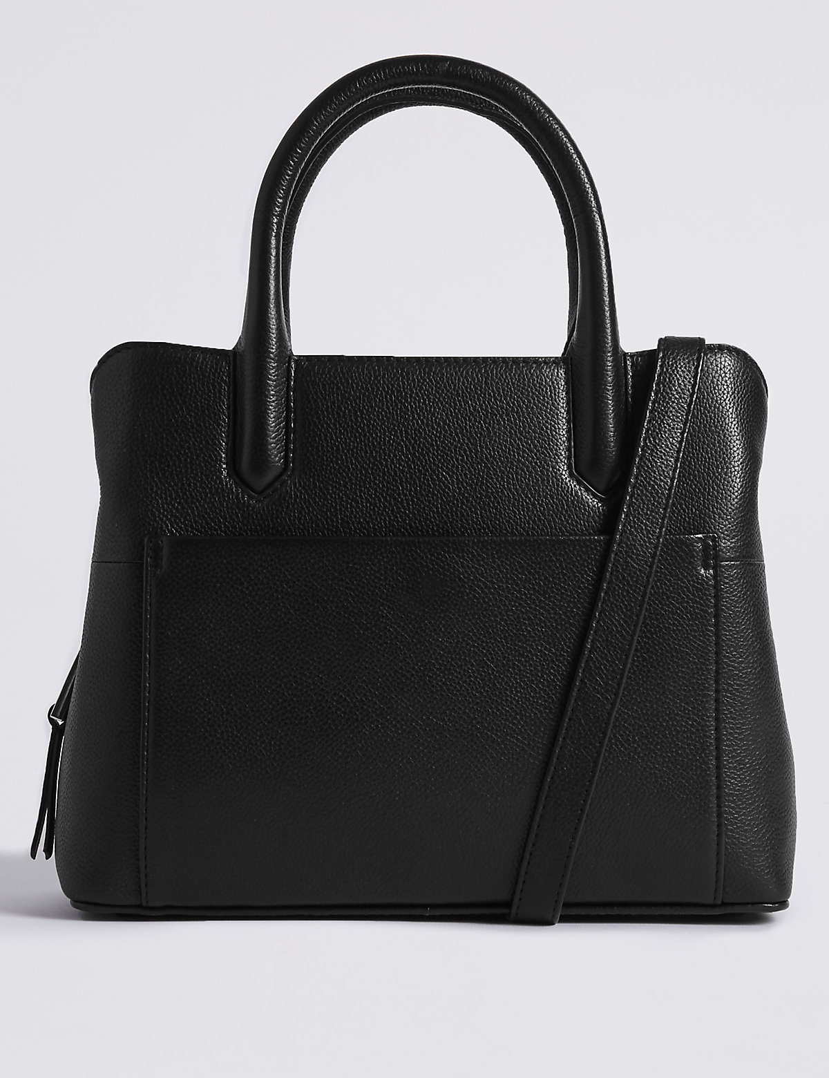 M&S Collection Leather Clean Technology Tote Bag