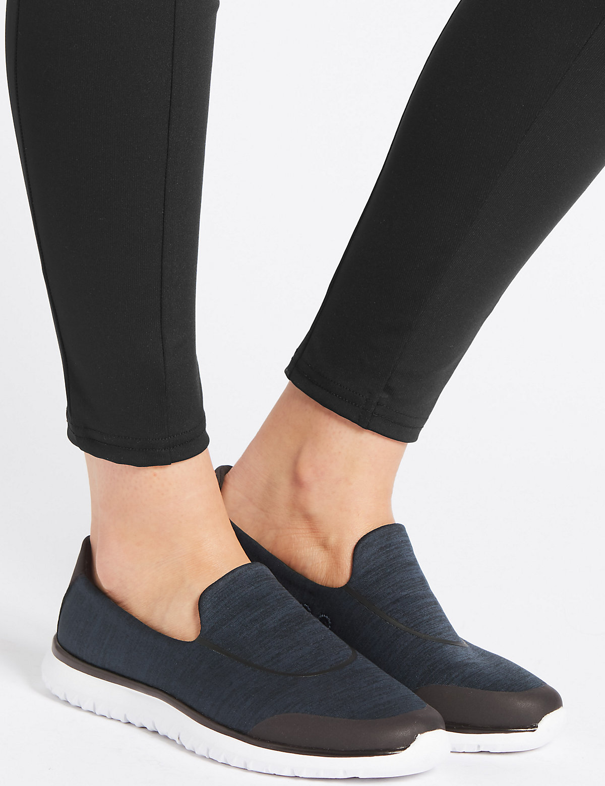 Metallic Heel Trainers Compare Bluewater D Island Shoes Moccasine Slip On Lacoste Suede Black