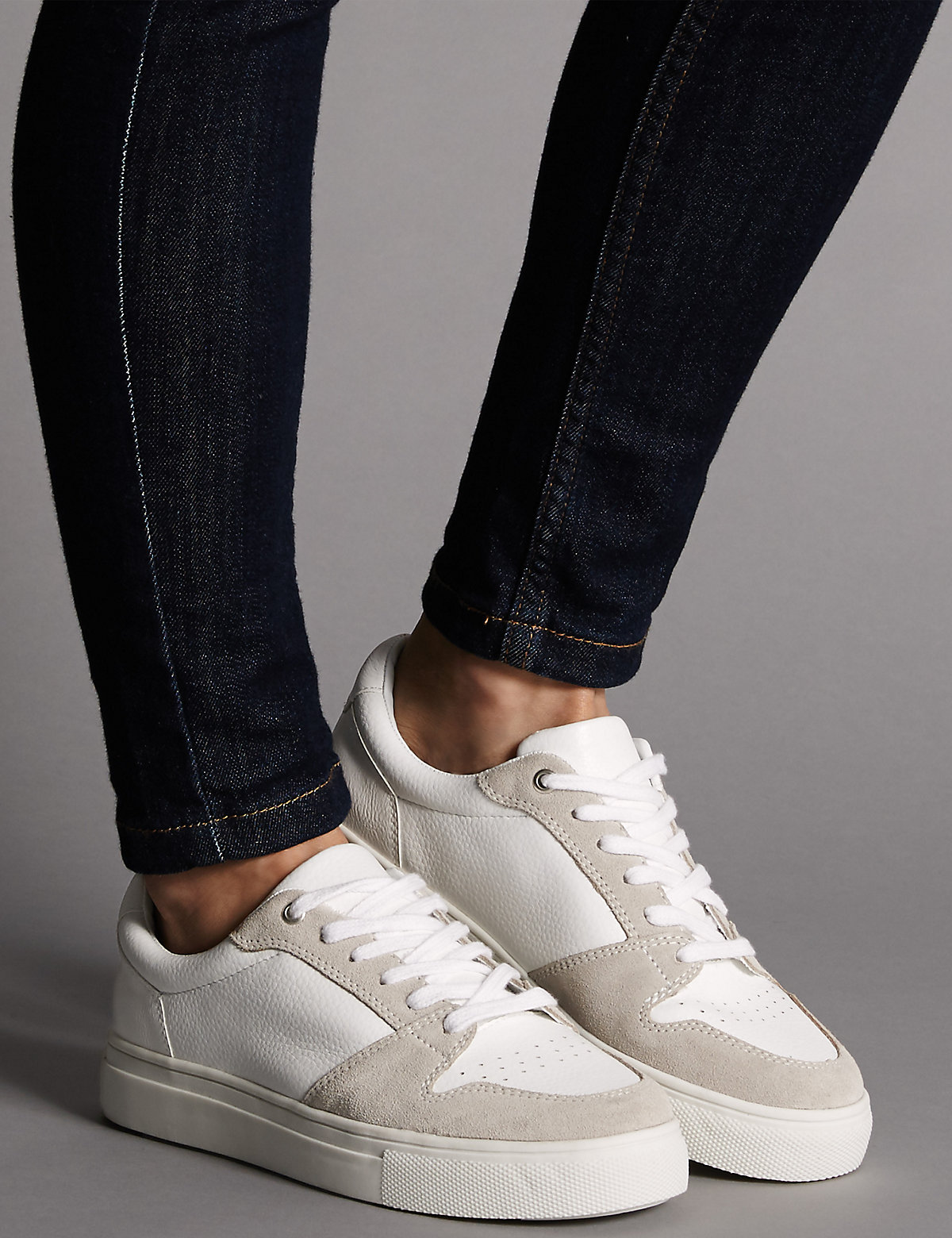 Autograph Lace Up Trainers with Insolia Flex