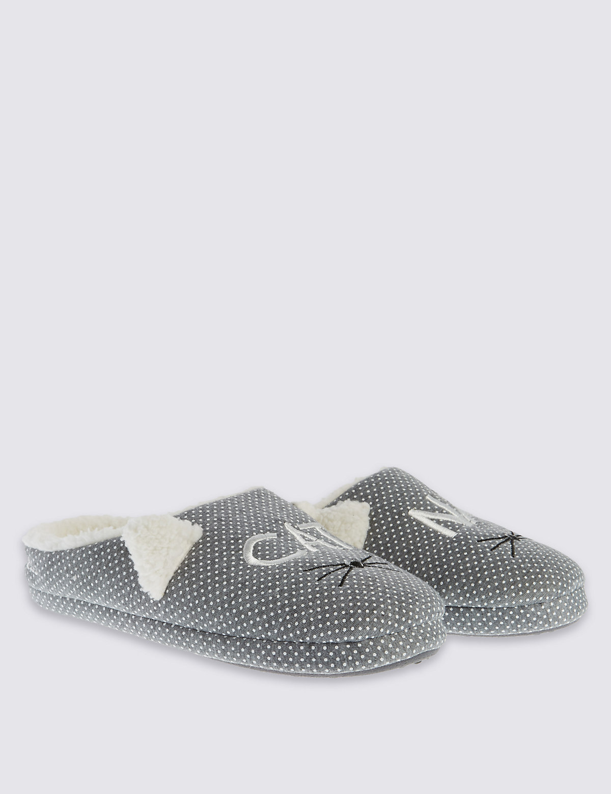 M&S Collection Nap Mule Slippers