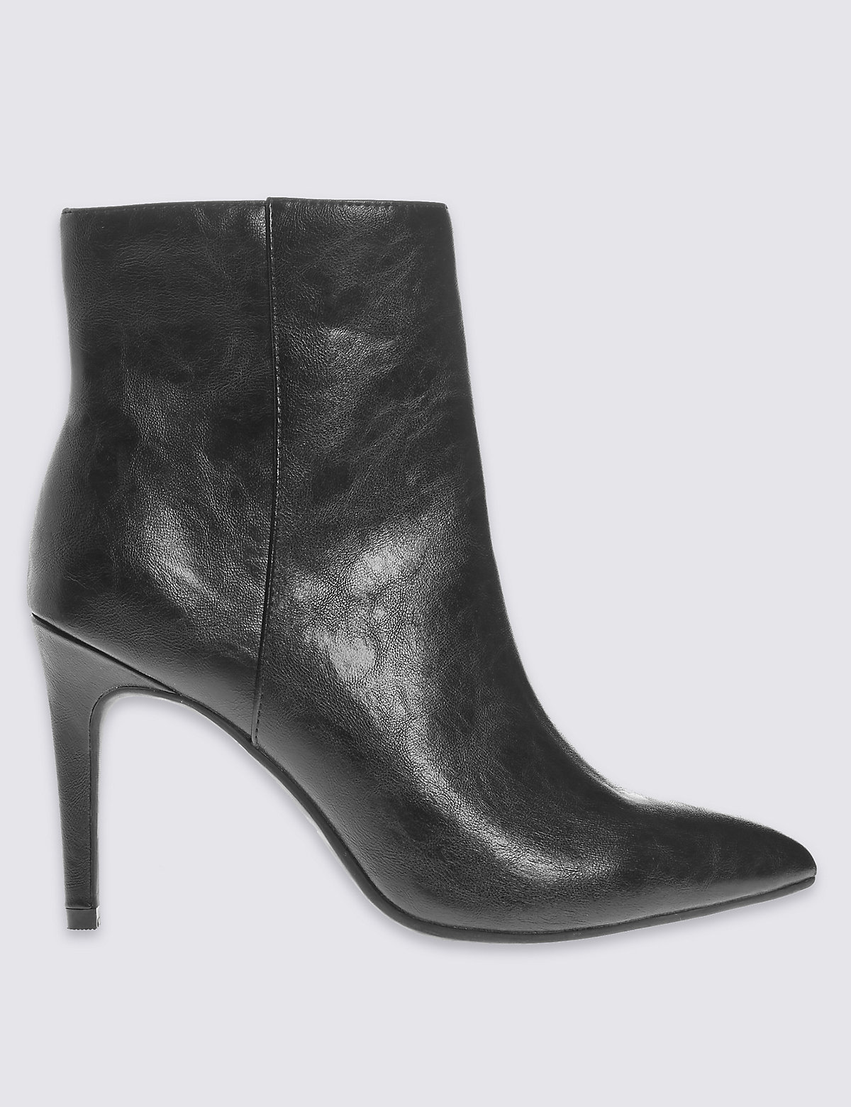 M&S Collection Pointed Toe Ankle Boots with Insolia