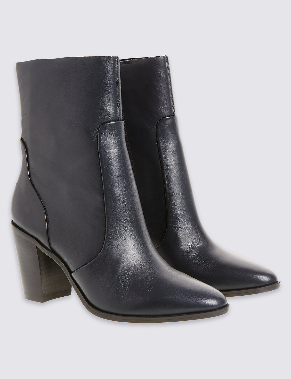 M&S Collection Long Ankle Boots Insolia