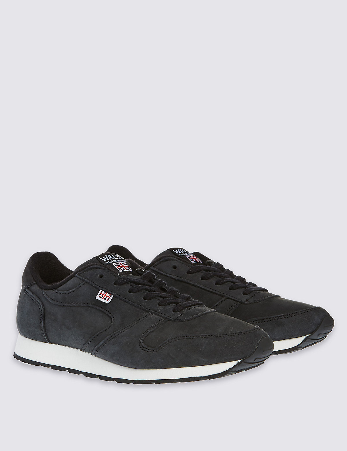 Best of British for M&S Collection Suede Lace Up Trainers