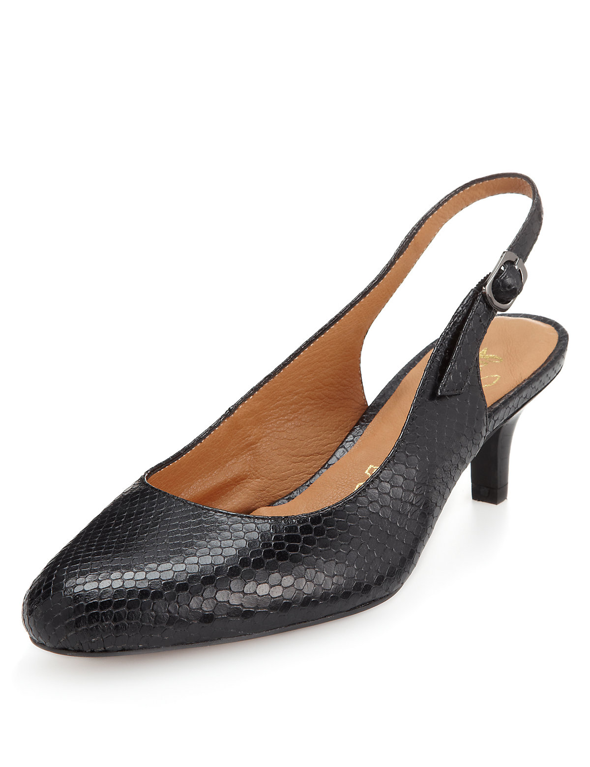 Mands Leather Footglove Shoes