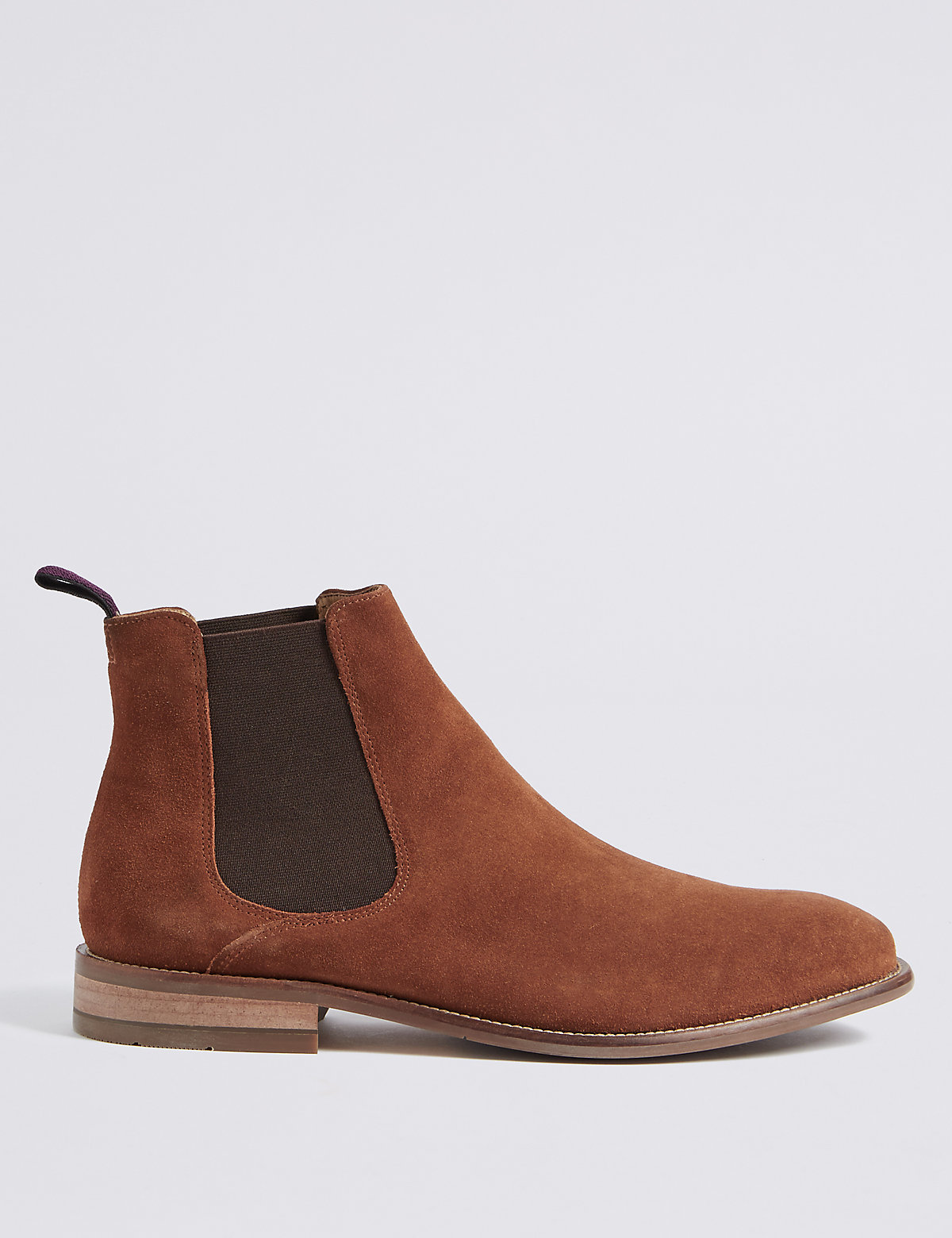 M&S Collection Luxury Suede Chelsea Boots