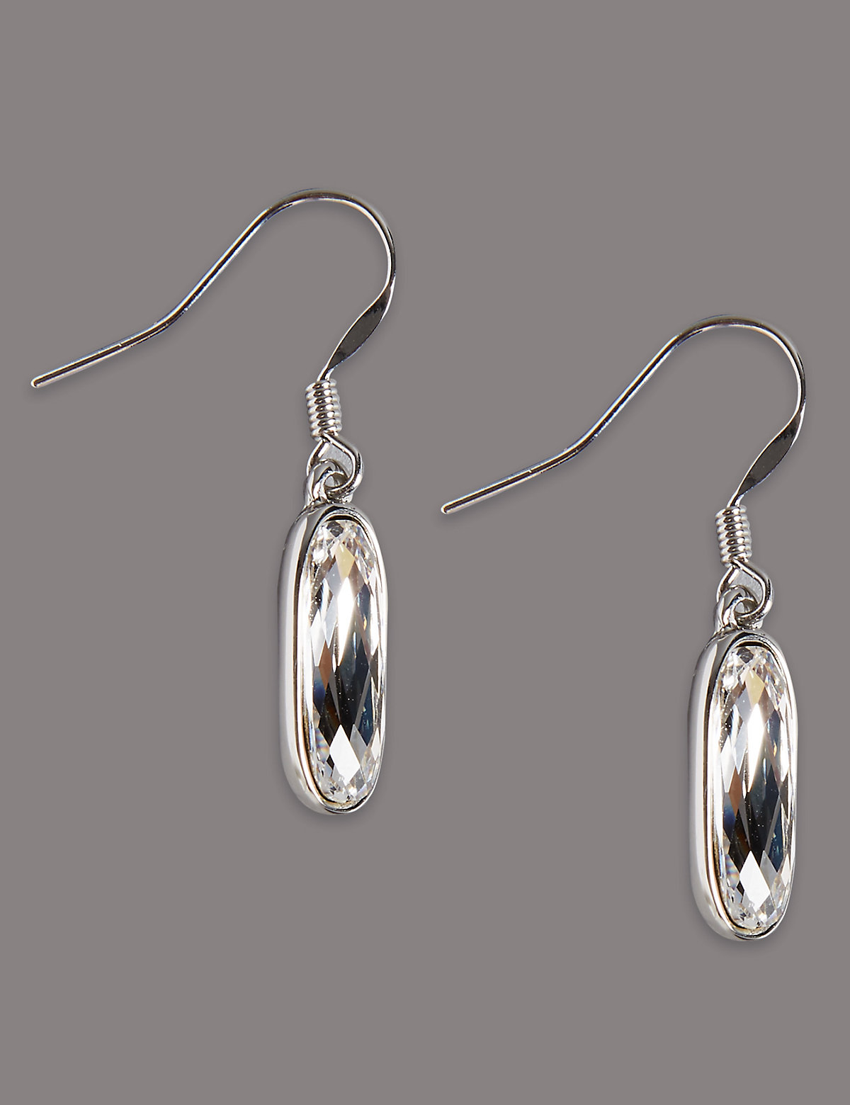 Autograph Clean Drop Earrings MADE WITH SWAROVSKI ELEMENTS