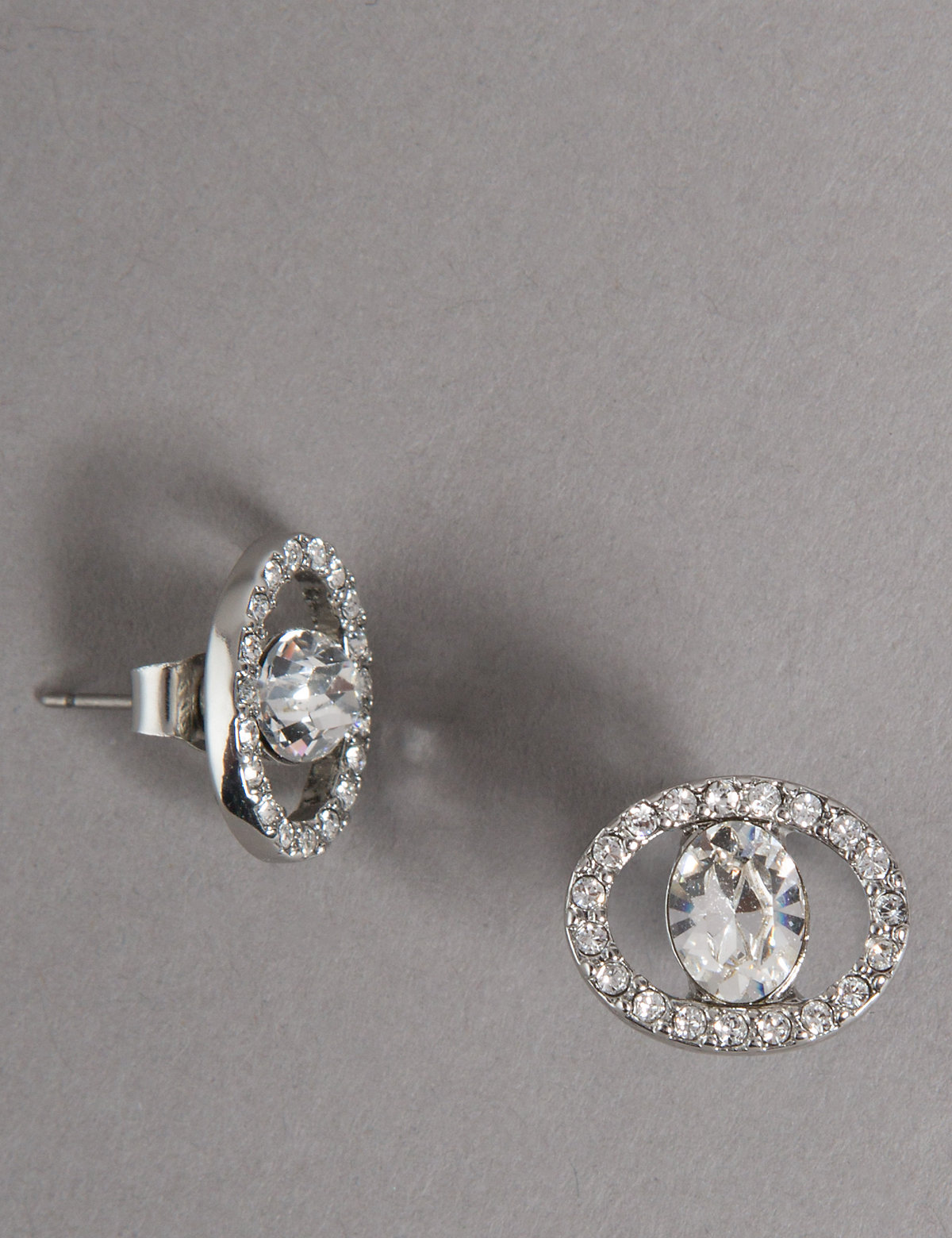Autograph Circular Sparkling Earrings MADE WITH SWAROVSKI ELEMENTS