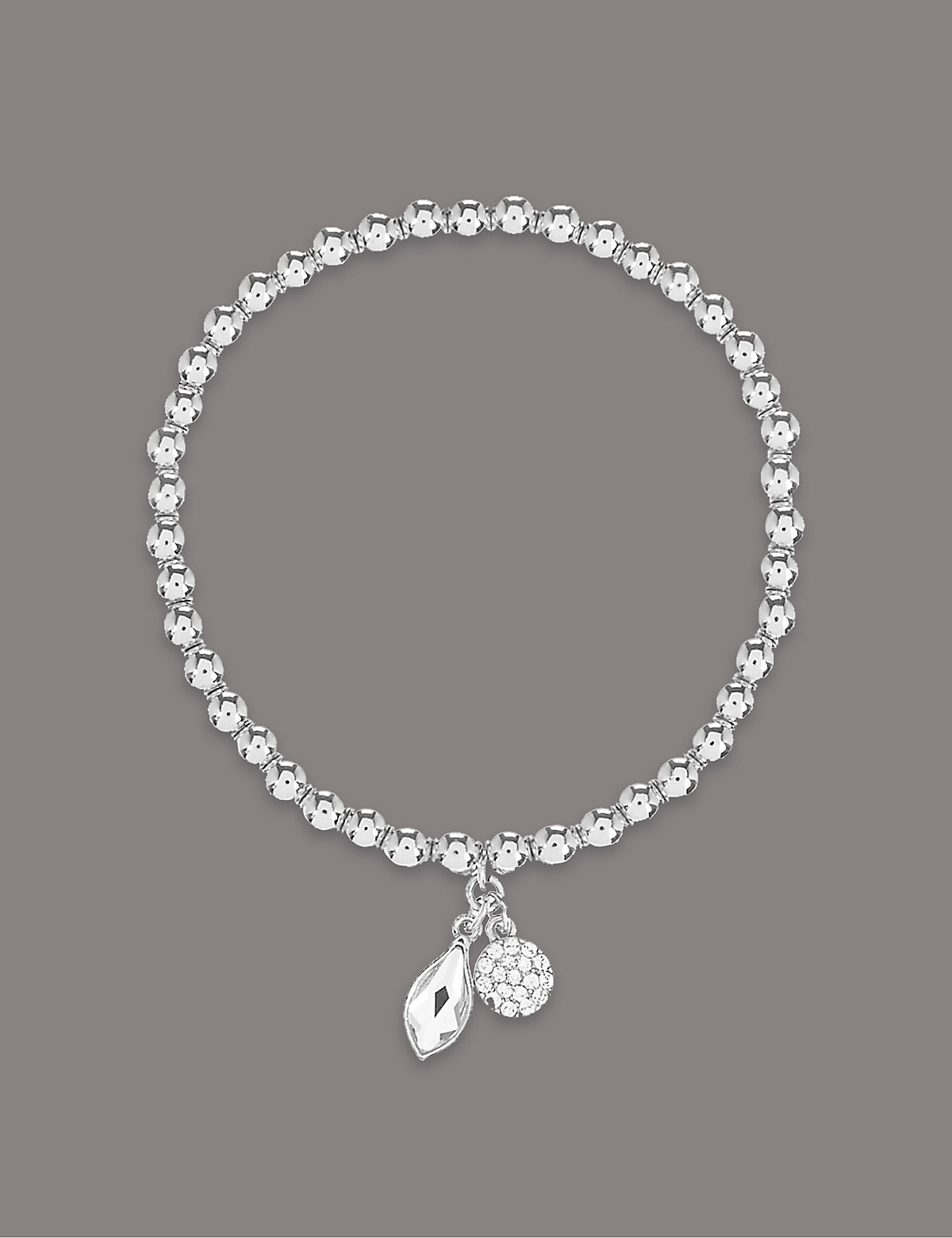 Autograph Double Drop Bracelet MADE WITH SWAROVSKI ELEMENTS