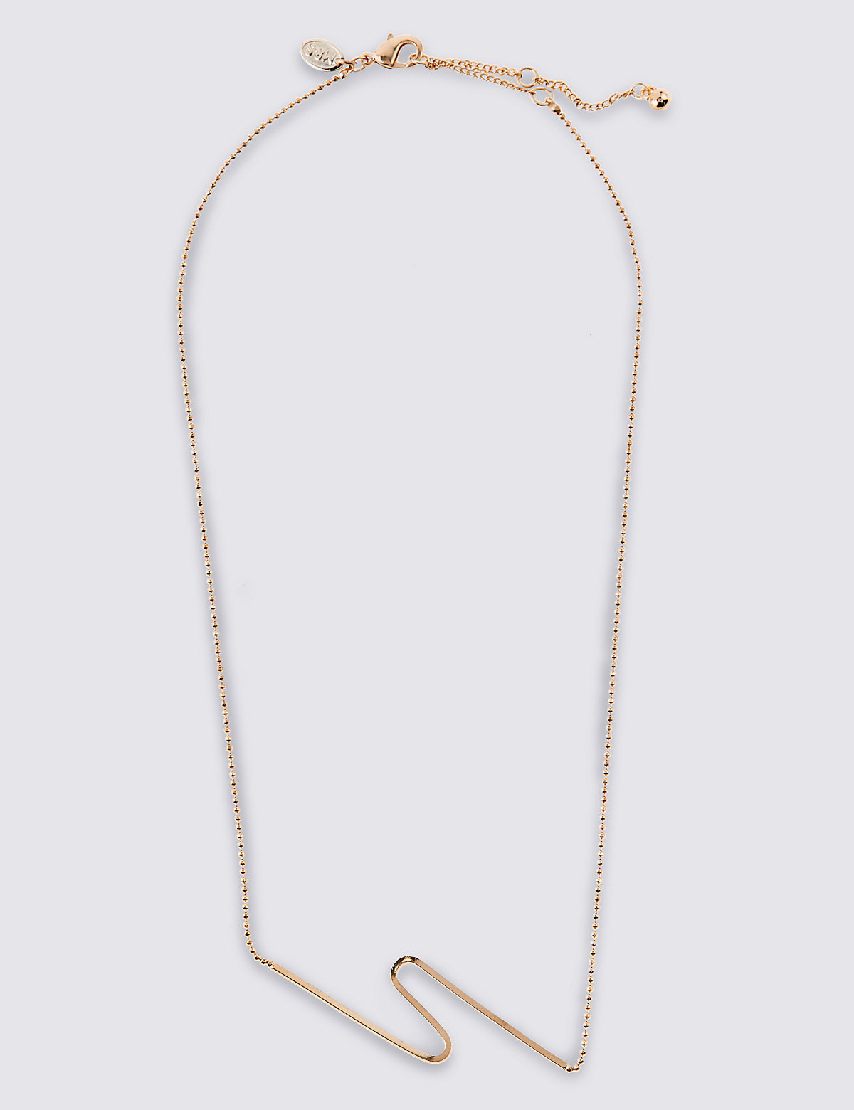 M&S Collection Fine Wave Necklace