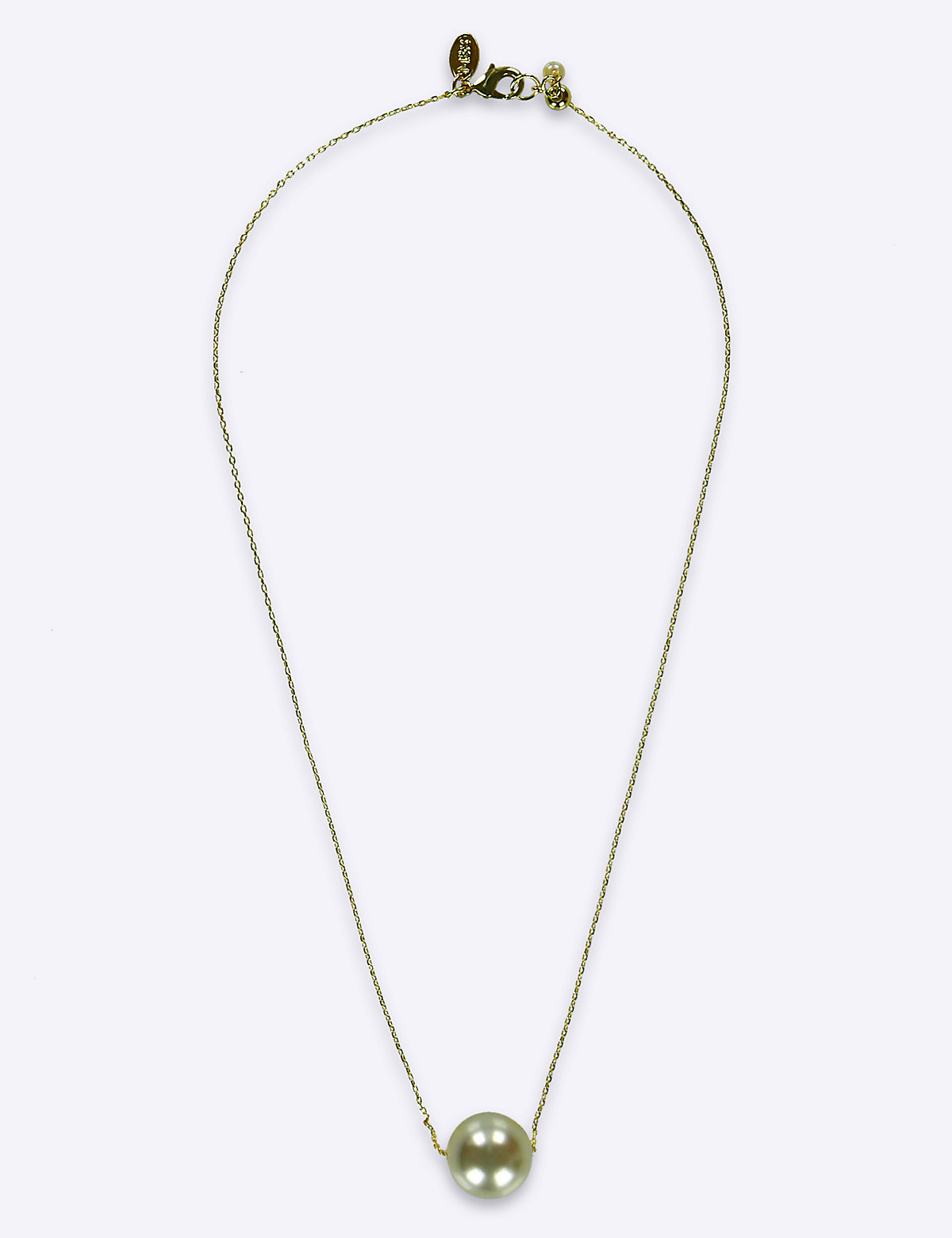 M&S Collection Floating Pearl Necklace