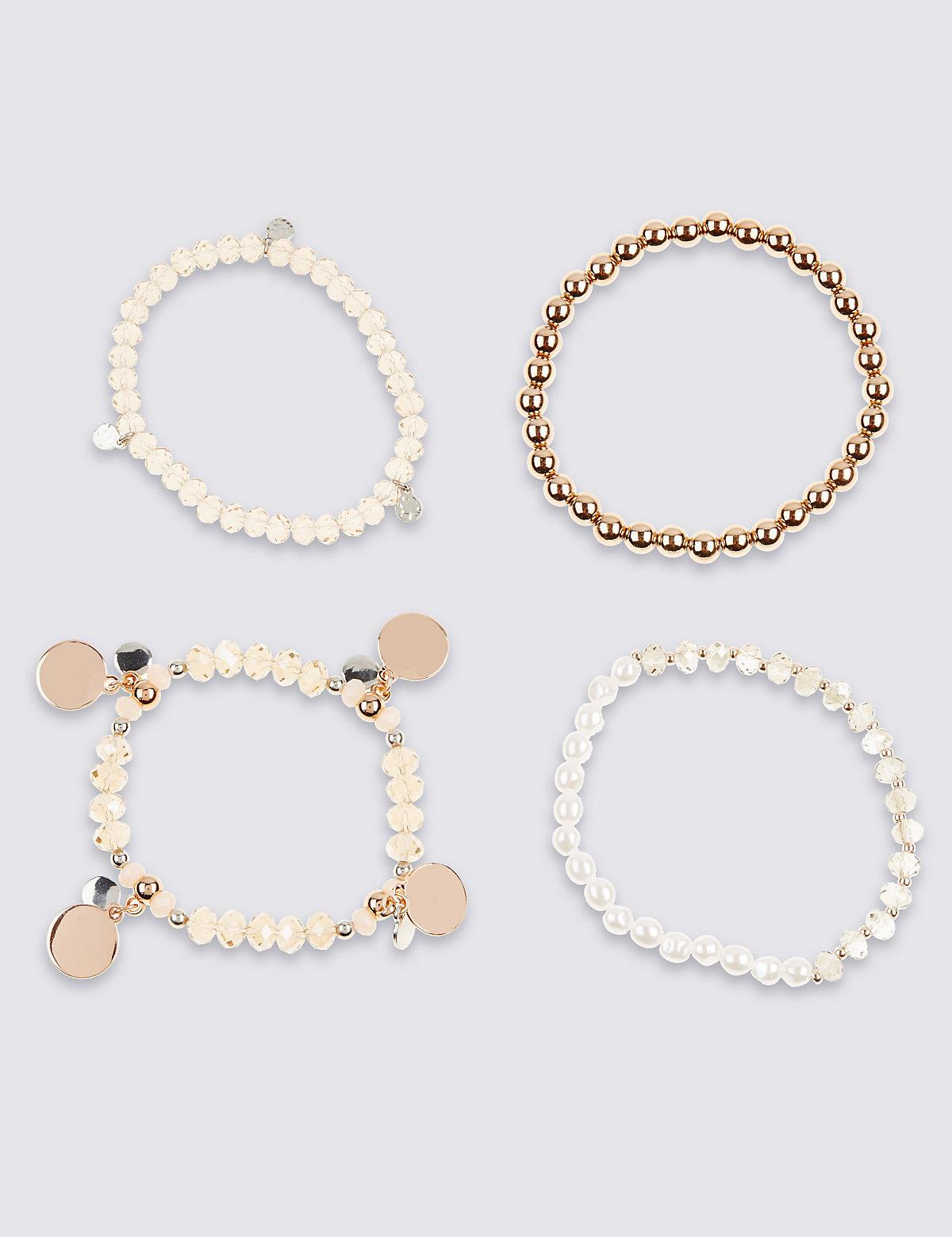 M&S Collection Sparkle Multi Bracelets
