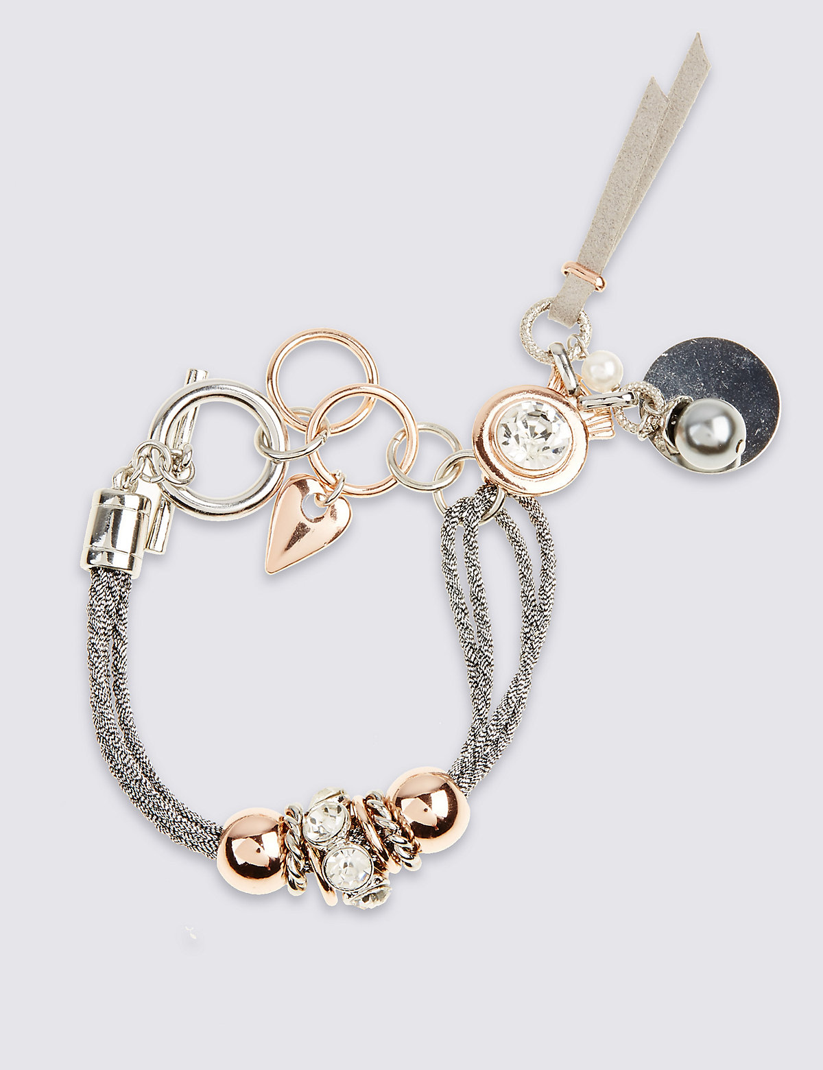 M&S Collection Corded Drop Bracelet