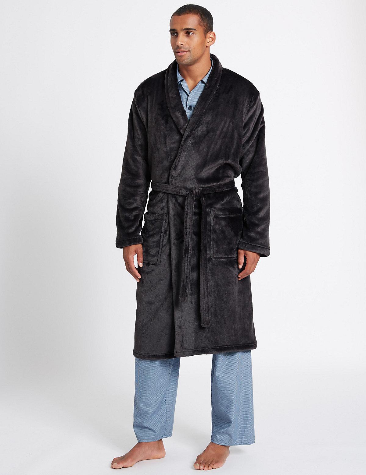M&S Collection Premium Fleece Gown