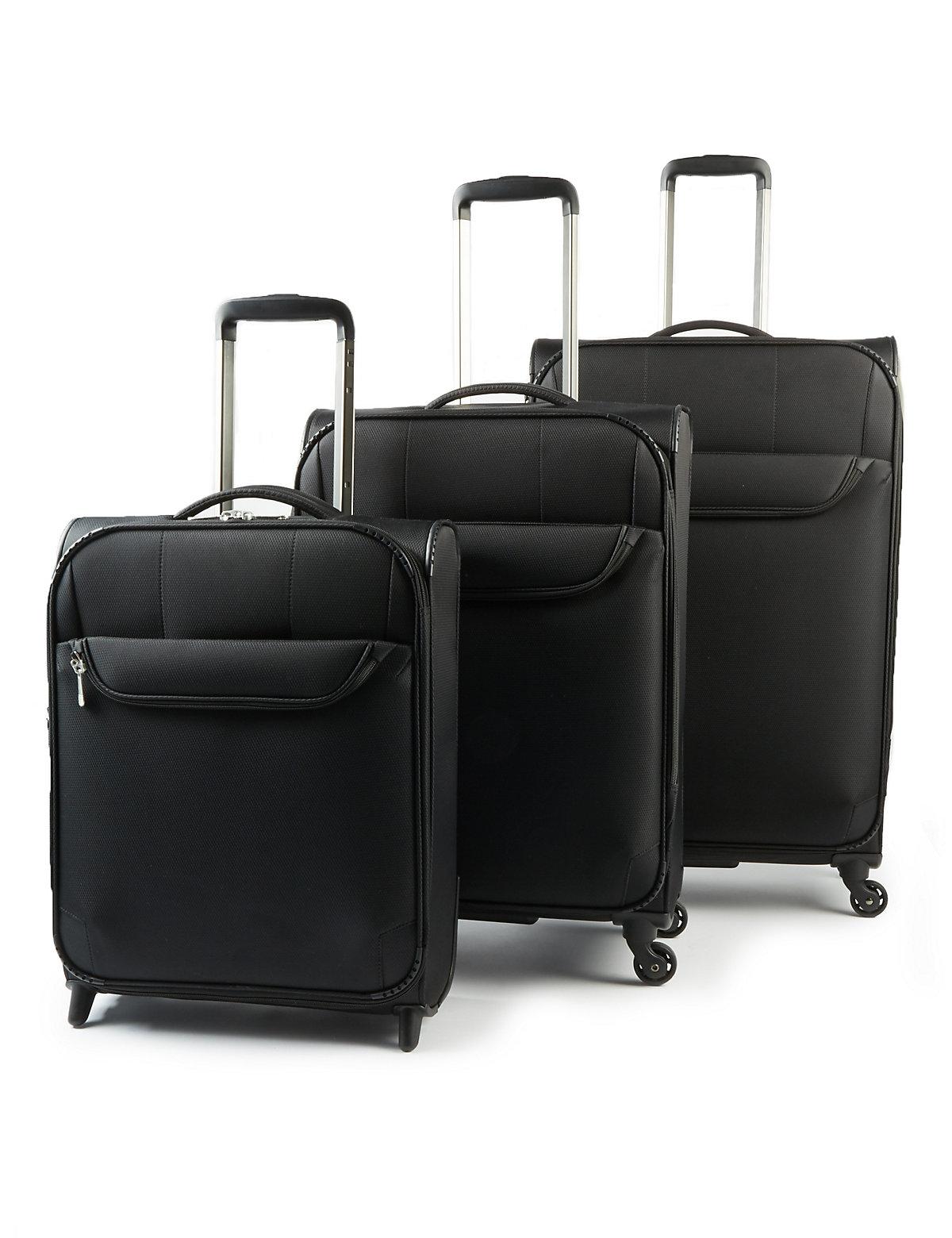 M&S Collection Super Lightweight 2 Wheel Cabin Suitcase