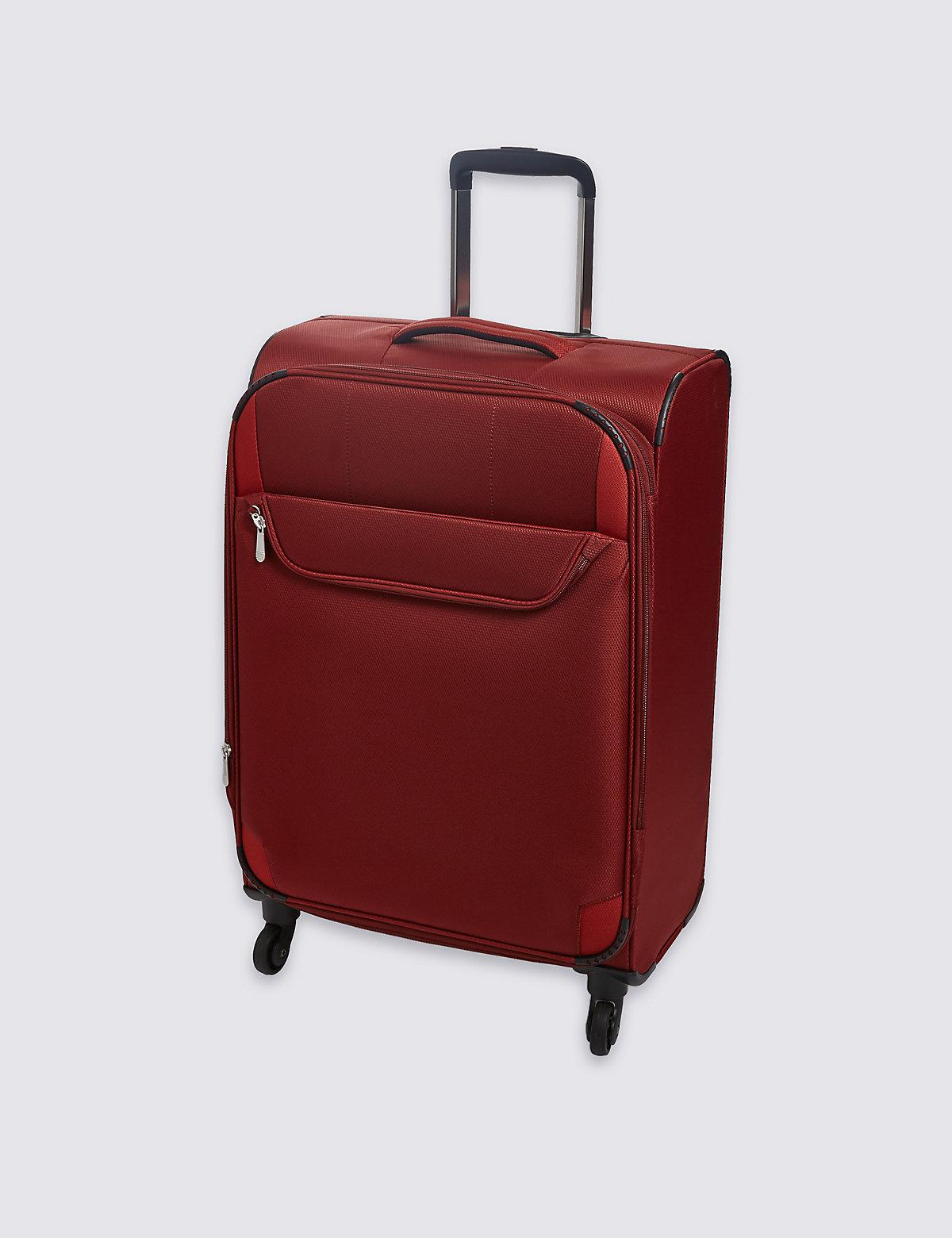 M&S Collection Super Lightweight 4 Wheel Medium Suitcase