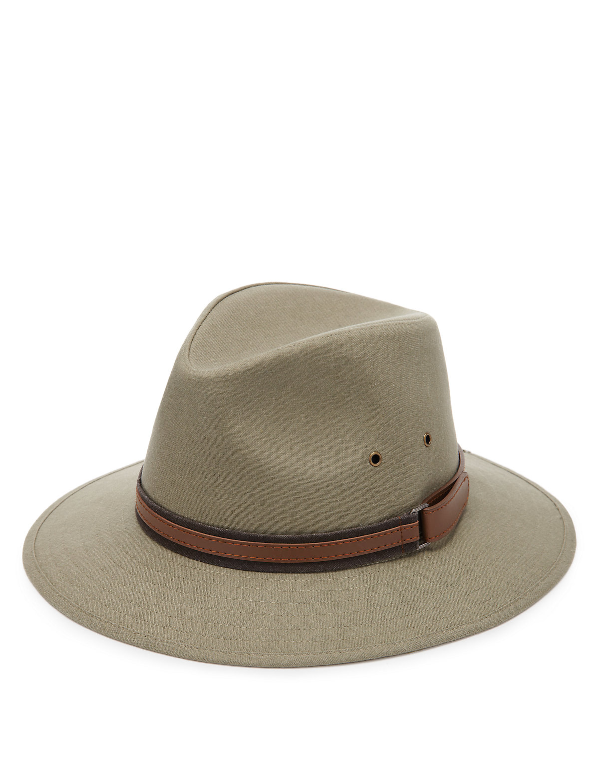 MS Collection Cool  Fresh Wide Brim Trilby Hat with Linen  Stormwear £19.50 AT vintagedancer.com