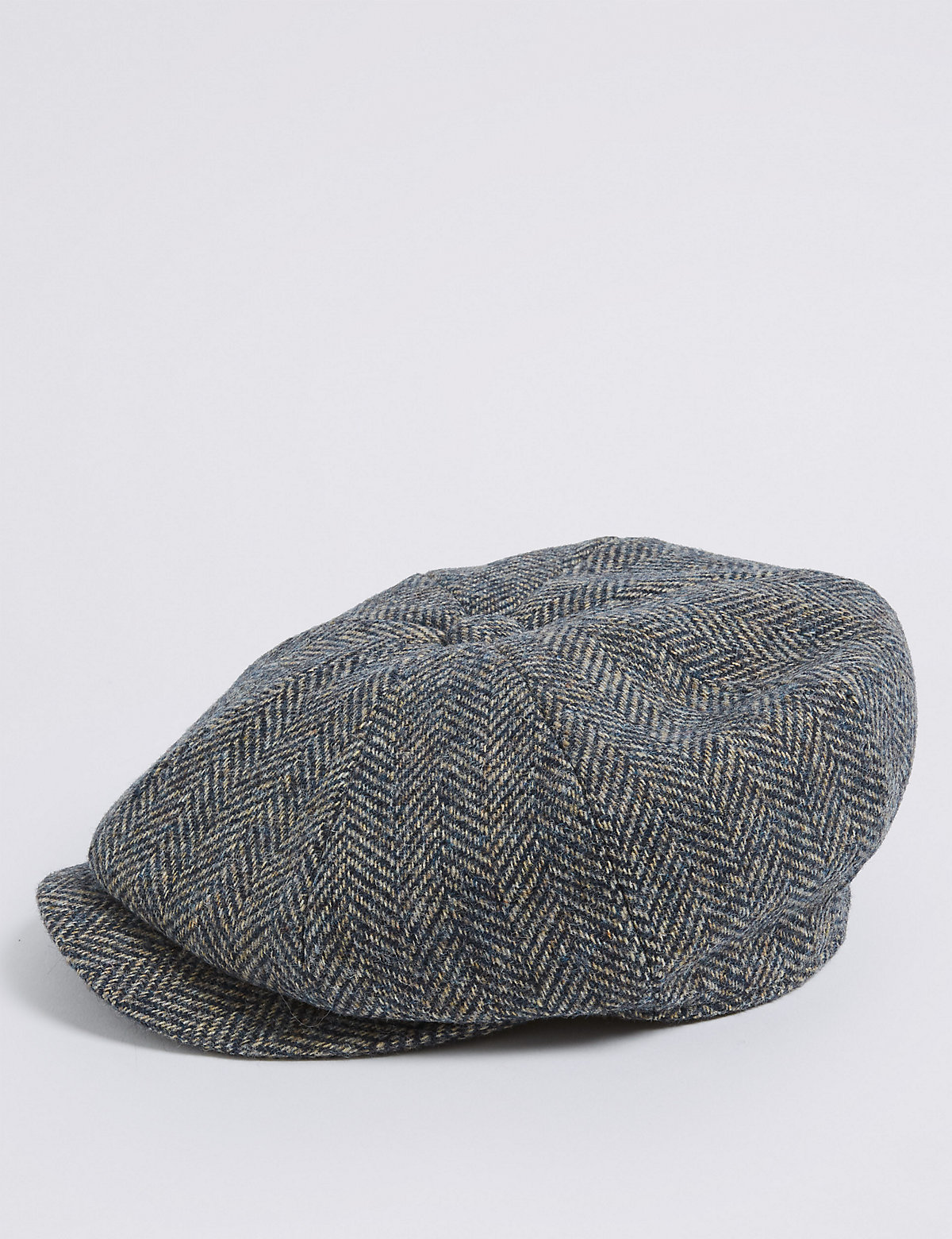 M&S Collection Pure Wool Herringbone Thinsulate Hat