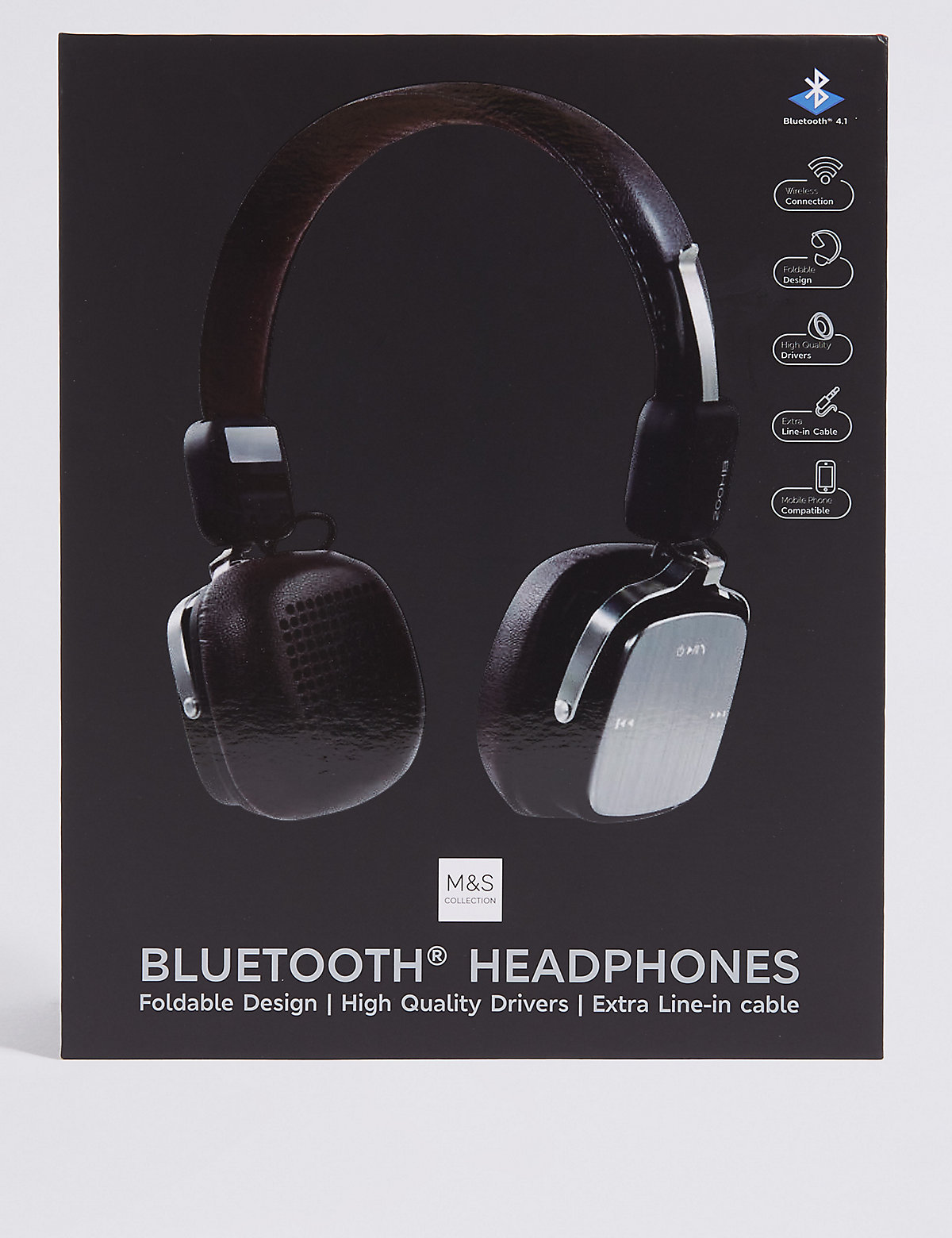 M&S Collection Bluetooth Headphones
