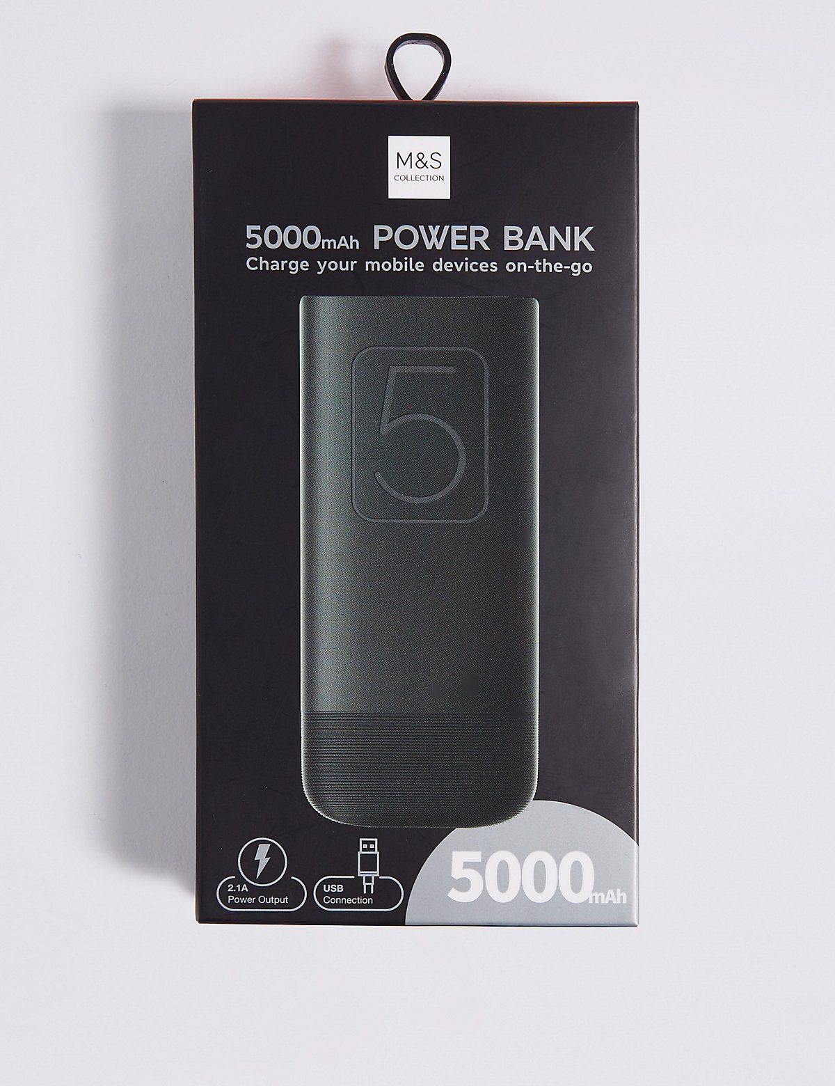 M&S Collection Compact Power Bank