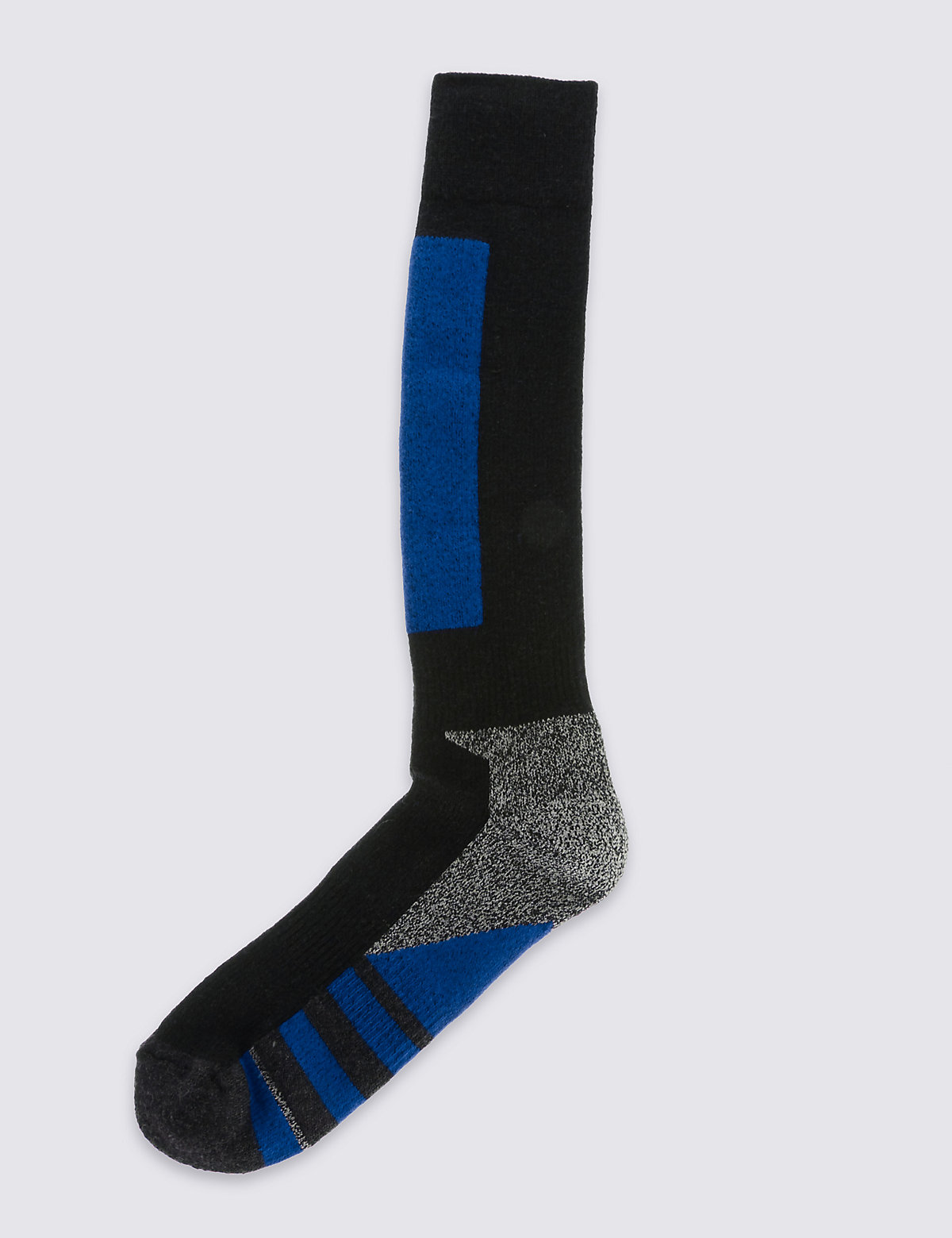 M&S Collection Wool Blend Ankle High Socks