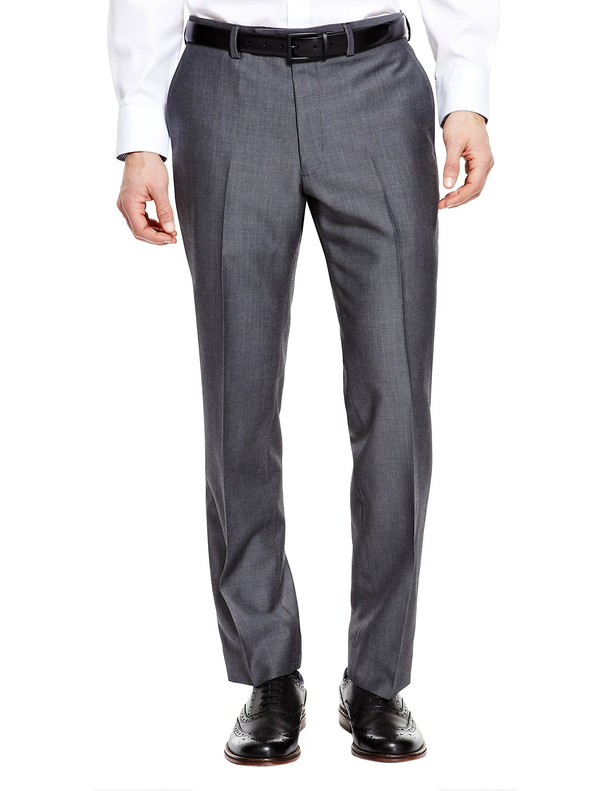 Mens Official England Trousers MS Autograph Suitwear Grey 4031in