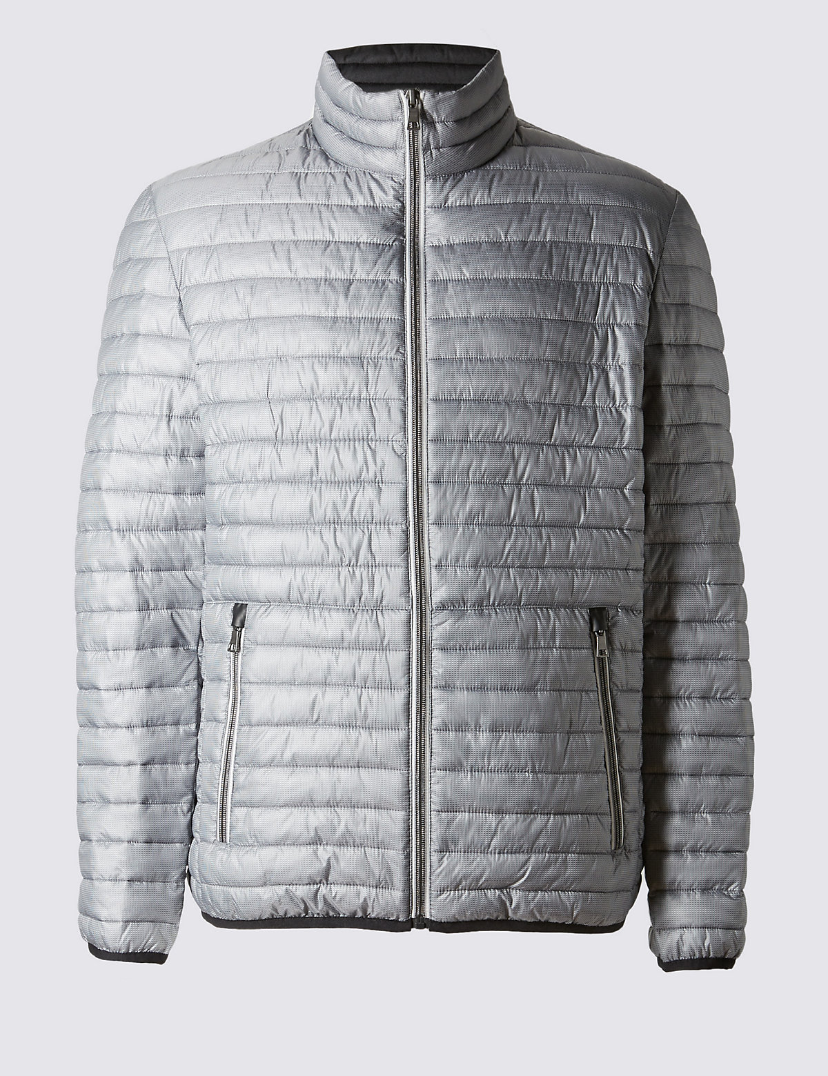 Image of M&S Collection Lightweight Quilted Jacket with Stormwear