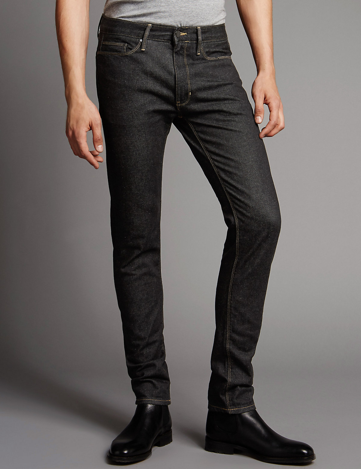 Image of Autograph Skinny Fit Stretch Jeans