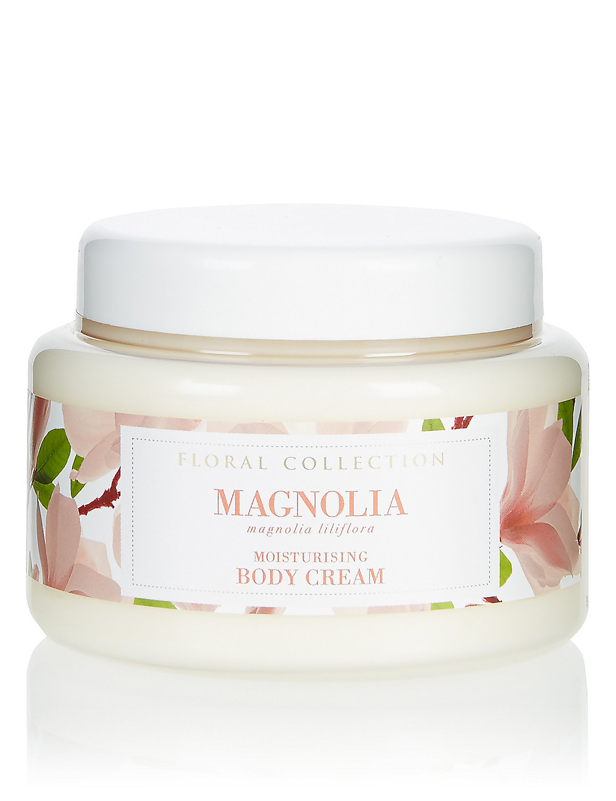 Image of Floral Collection Magnolia Body Cream 250ml
