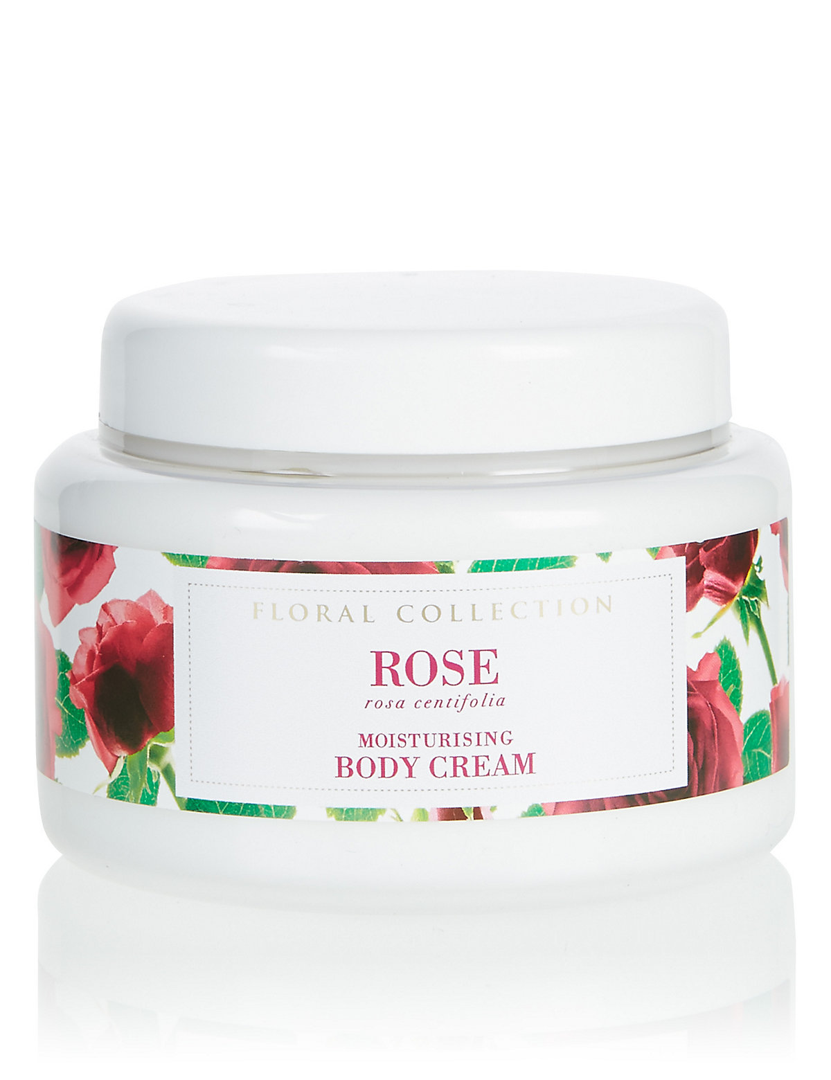 Image of Floral Collection Rose Body Cream