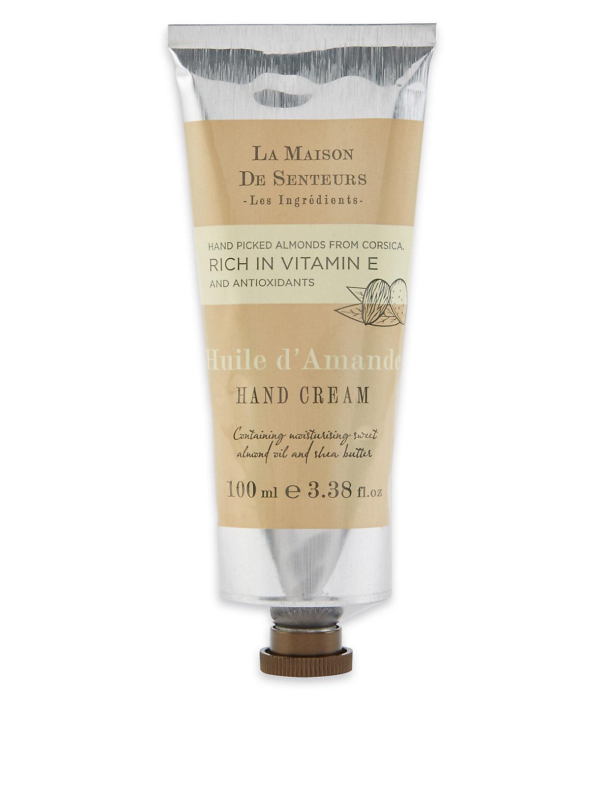 La Maison de Senteurs Almond Hand Cream 100ml