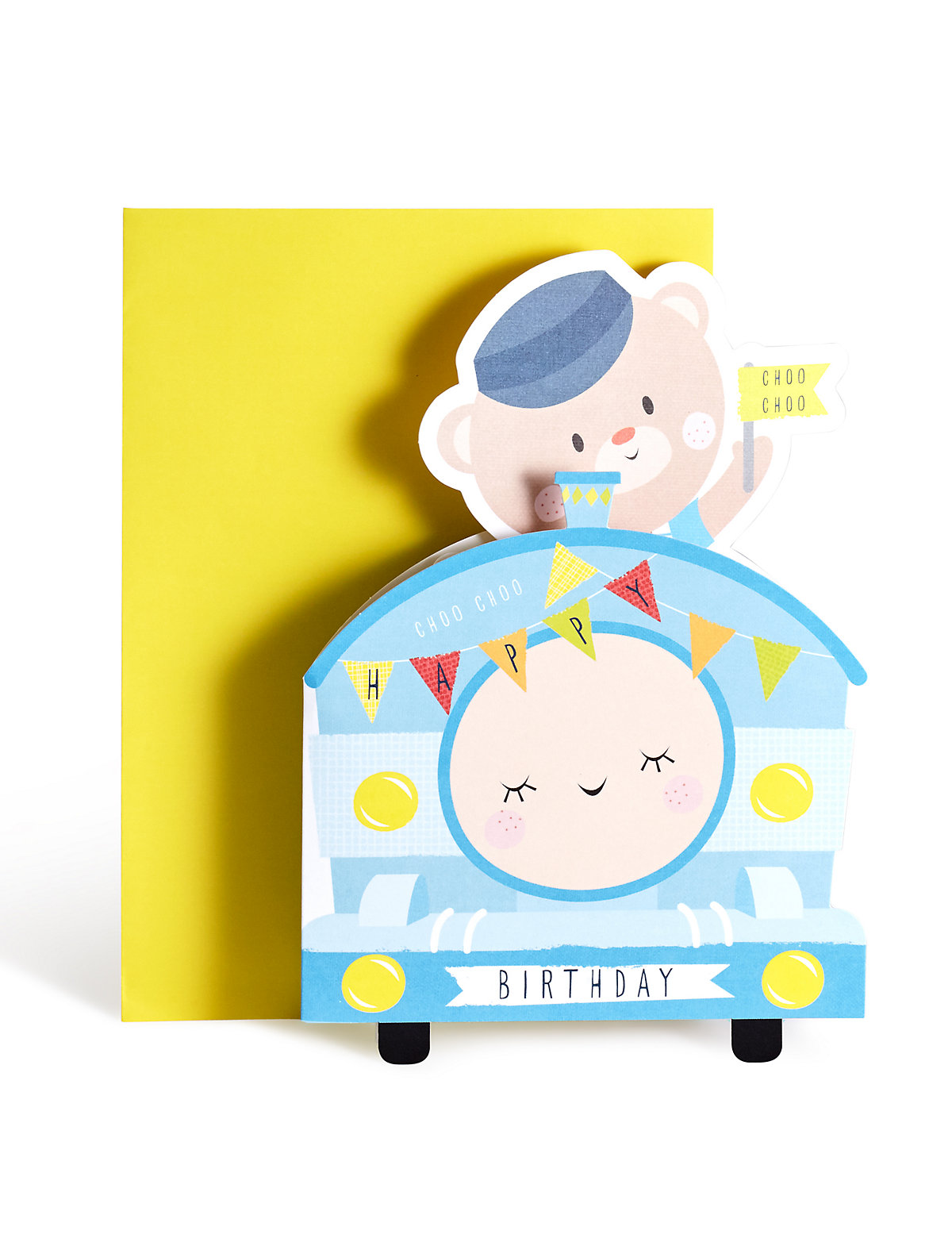 Train Pop Up Birthday Card