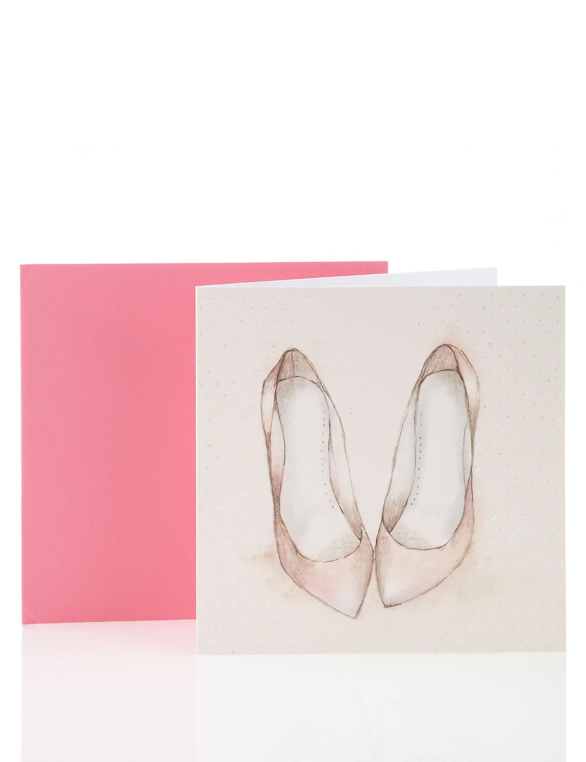 Glittery Shoes Card