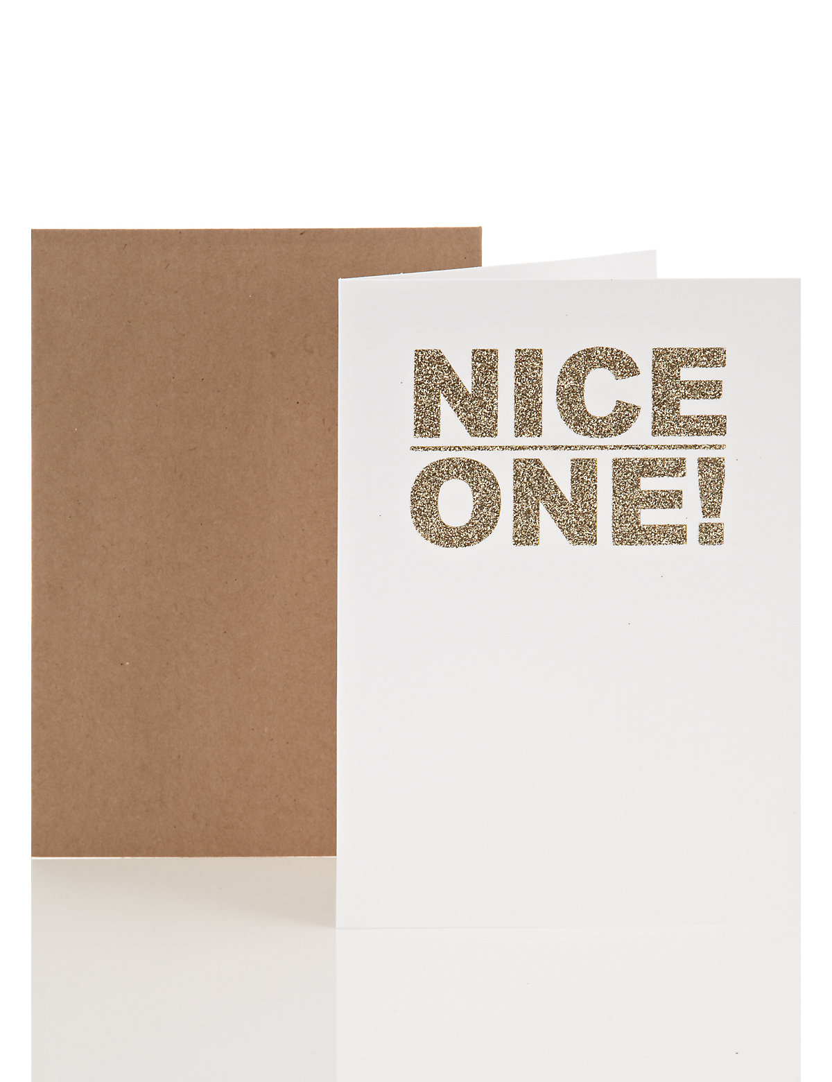Glitter Well Done Card