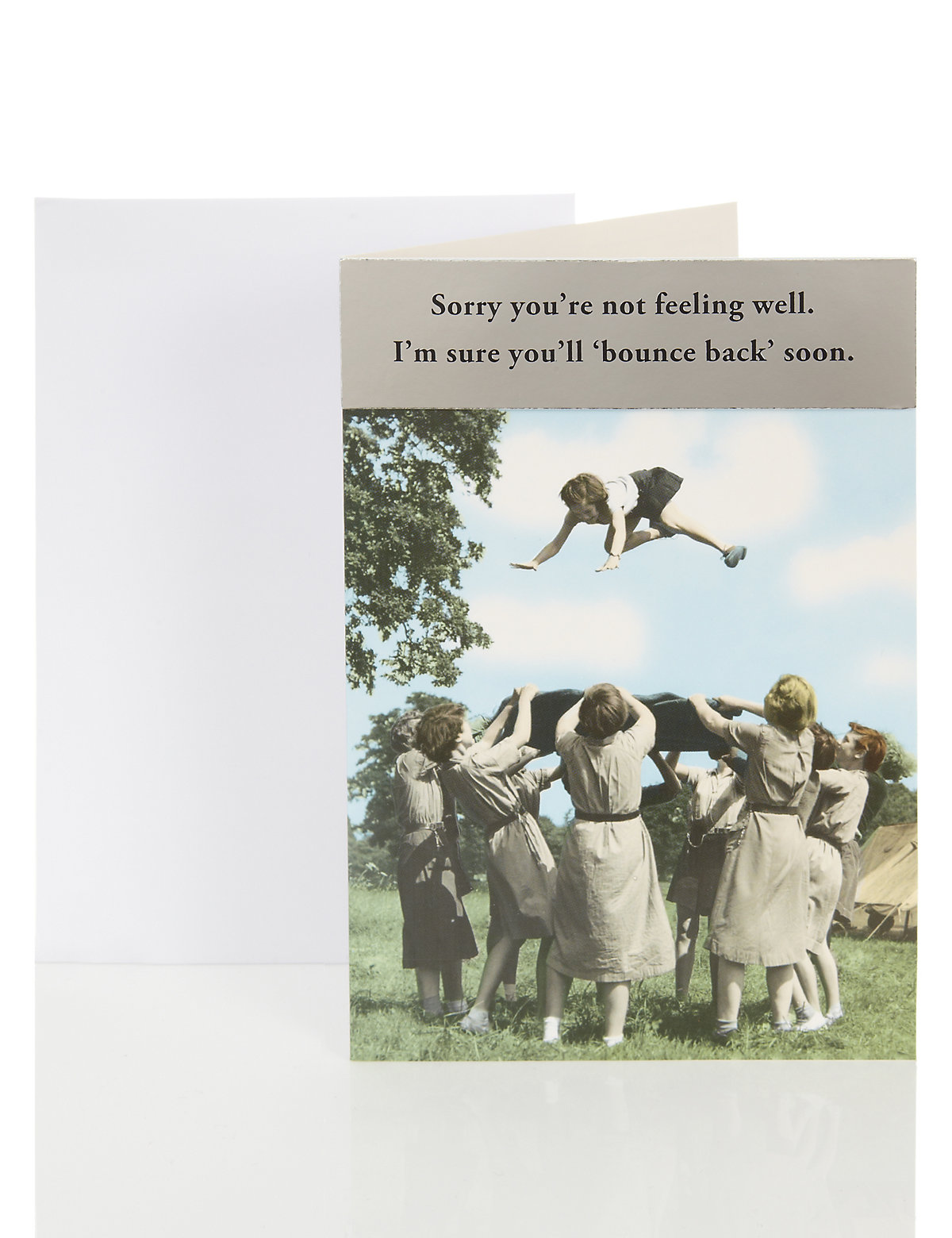 Get Well Humour Card