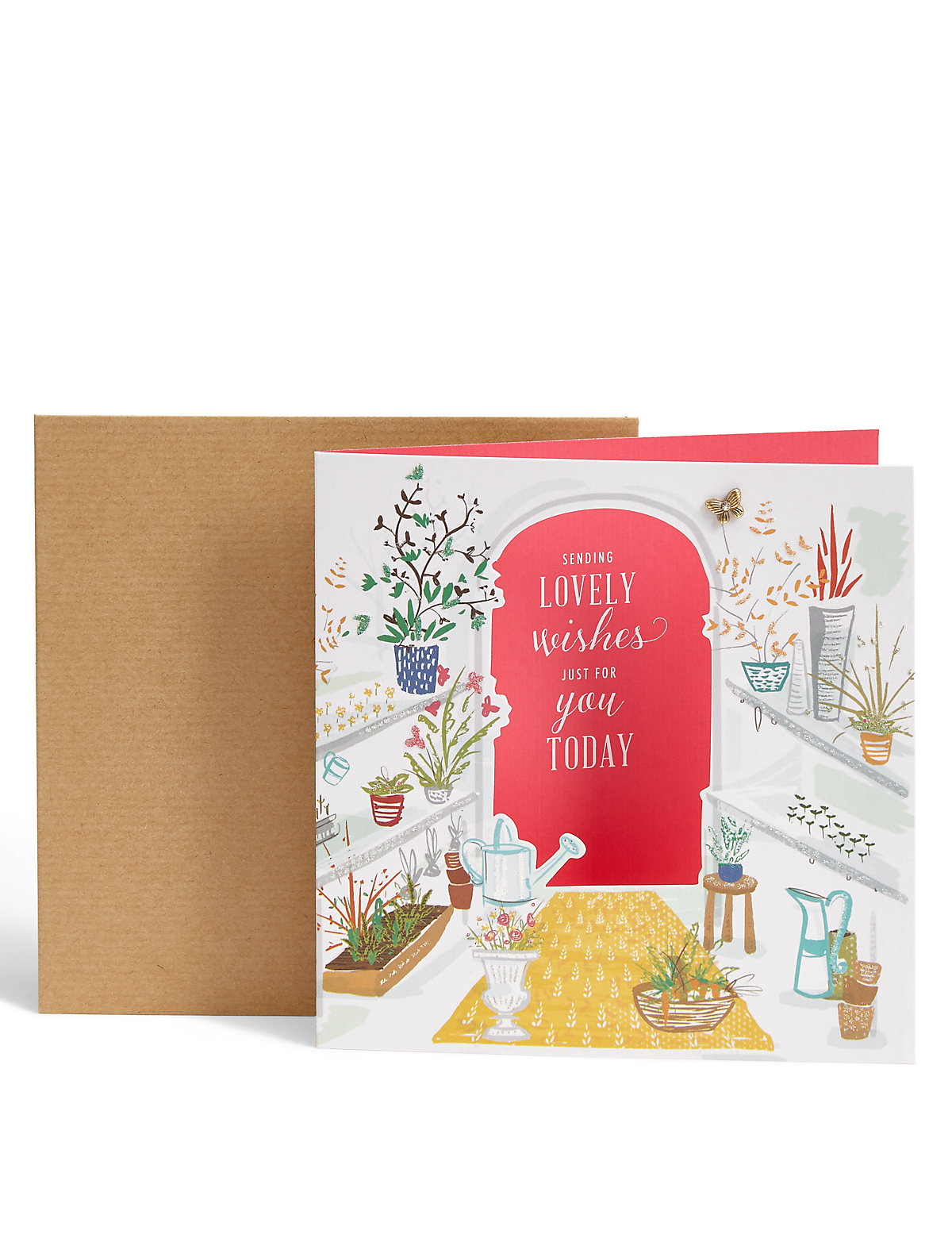 Greenhouse Birthday Card