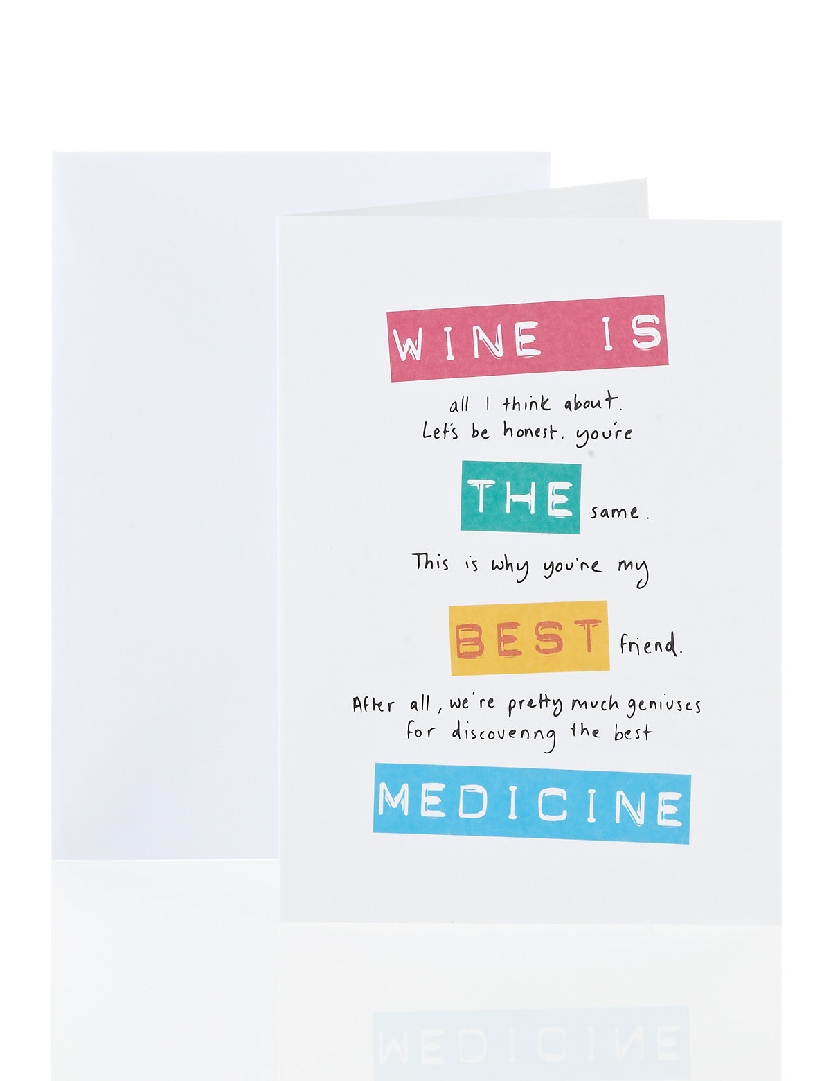 Funny Wine Card