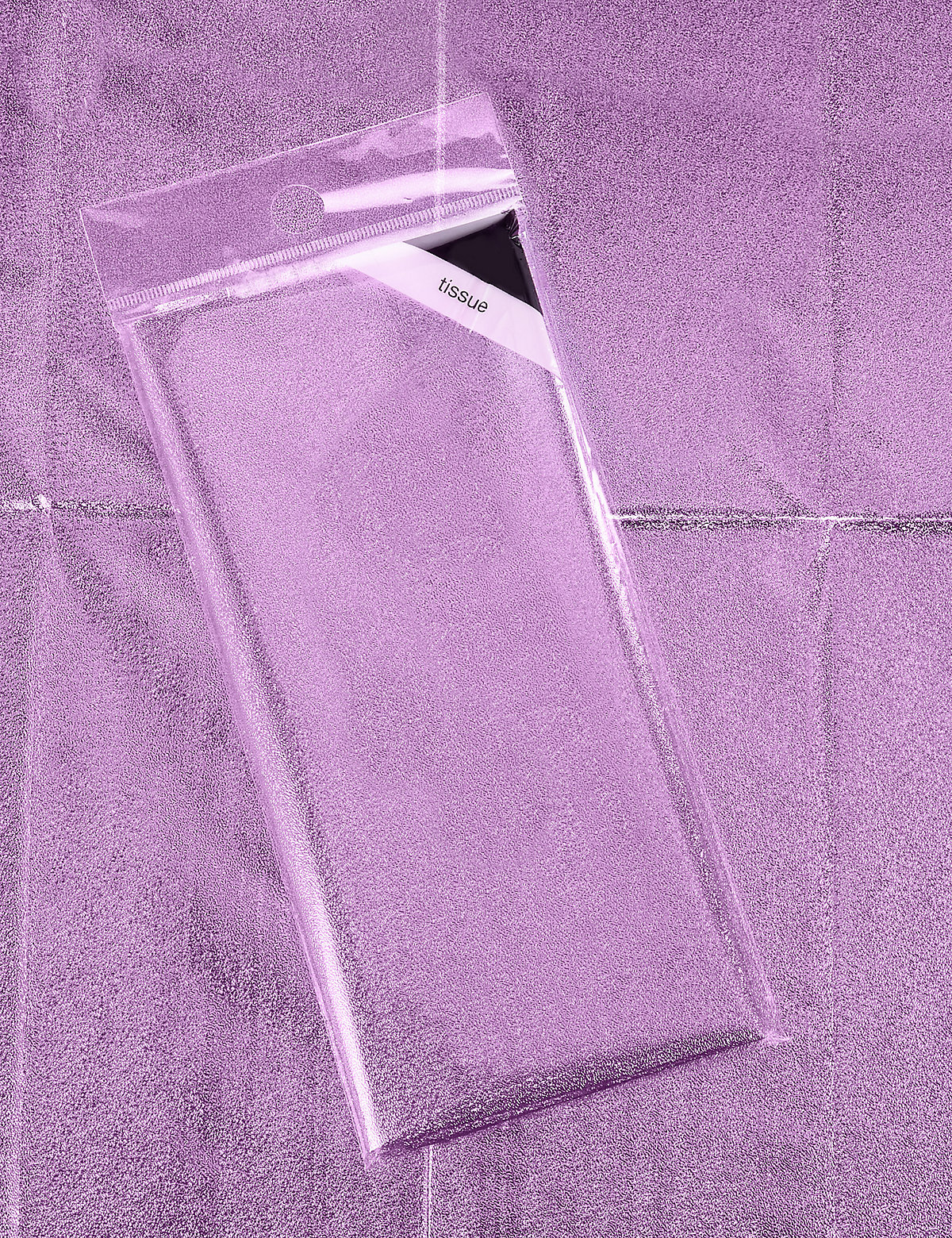 Purple Foil Tissue Paper