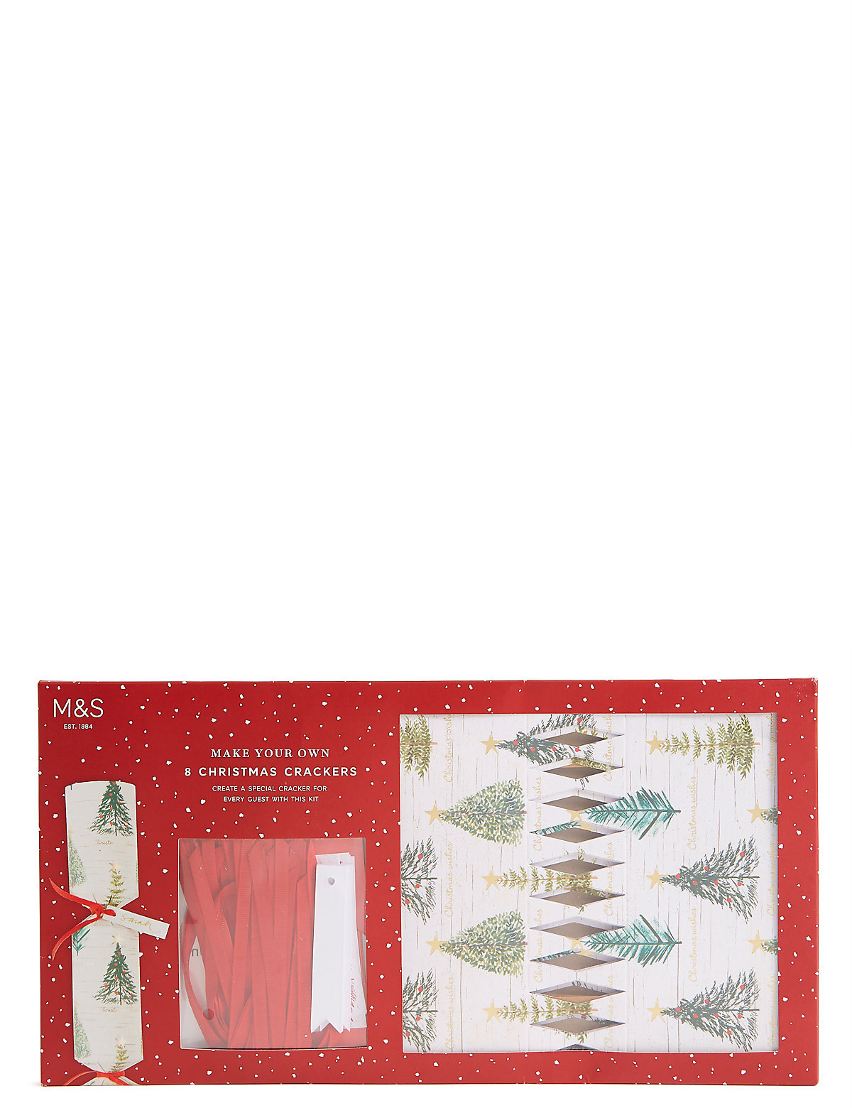 Tree Icon Make Your Own Christmas Crackers Pack of 8