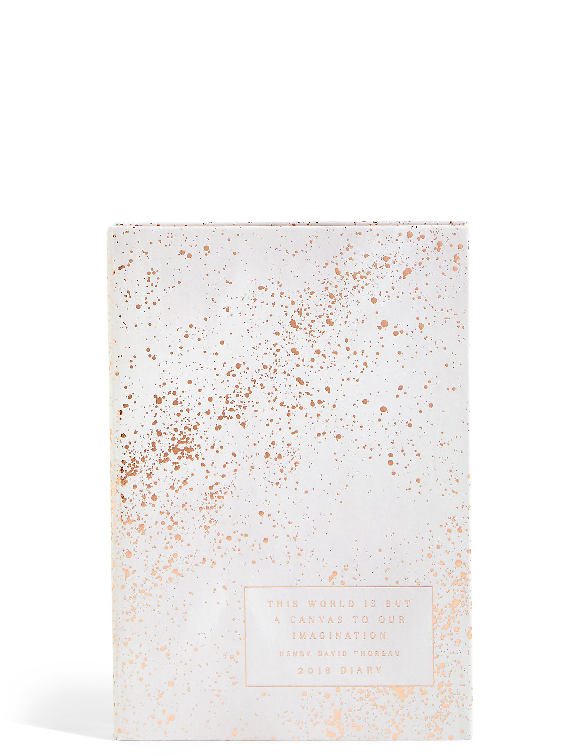 Small Foil Spot 2018 Diary