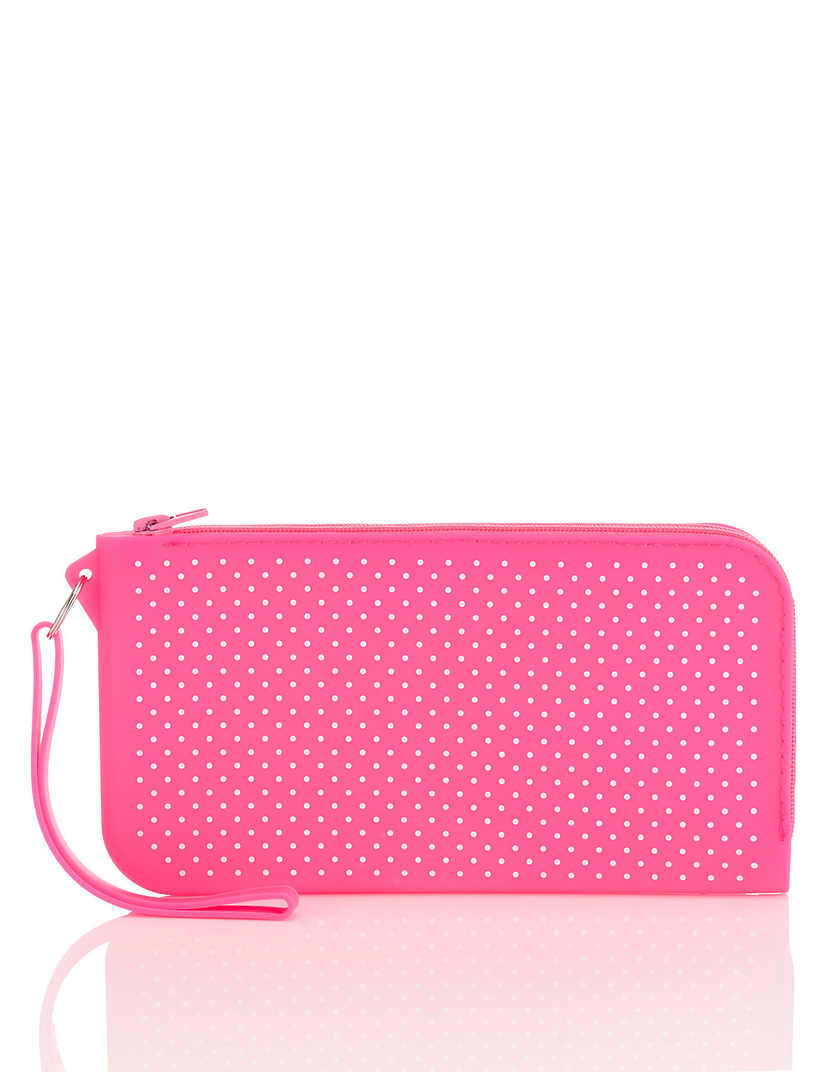 Pink Silicon Pencil Case