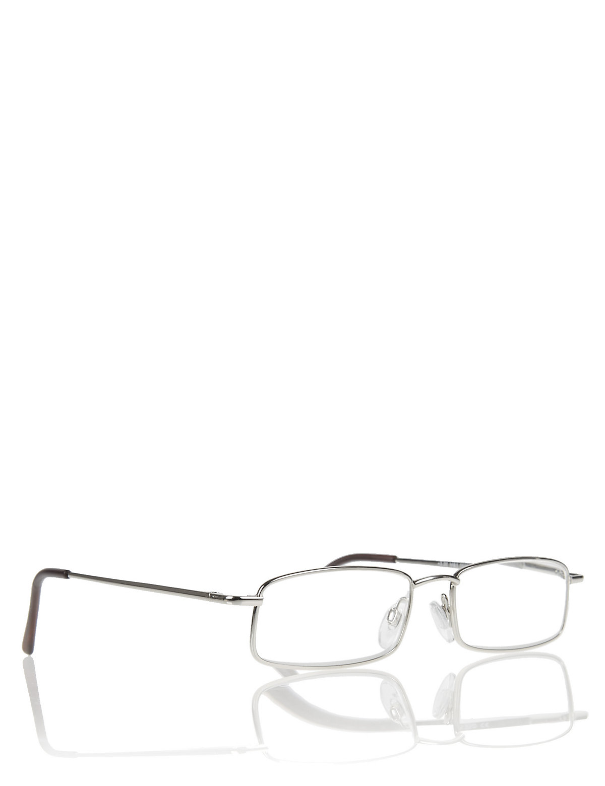 M&S Collection Reading Glasses Full Frame Metal