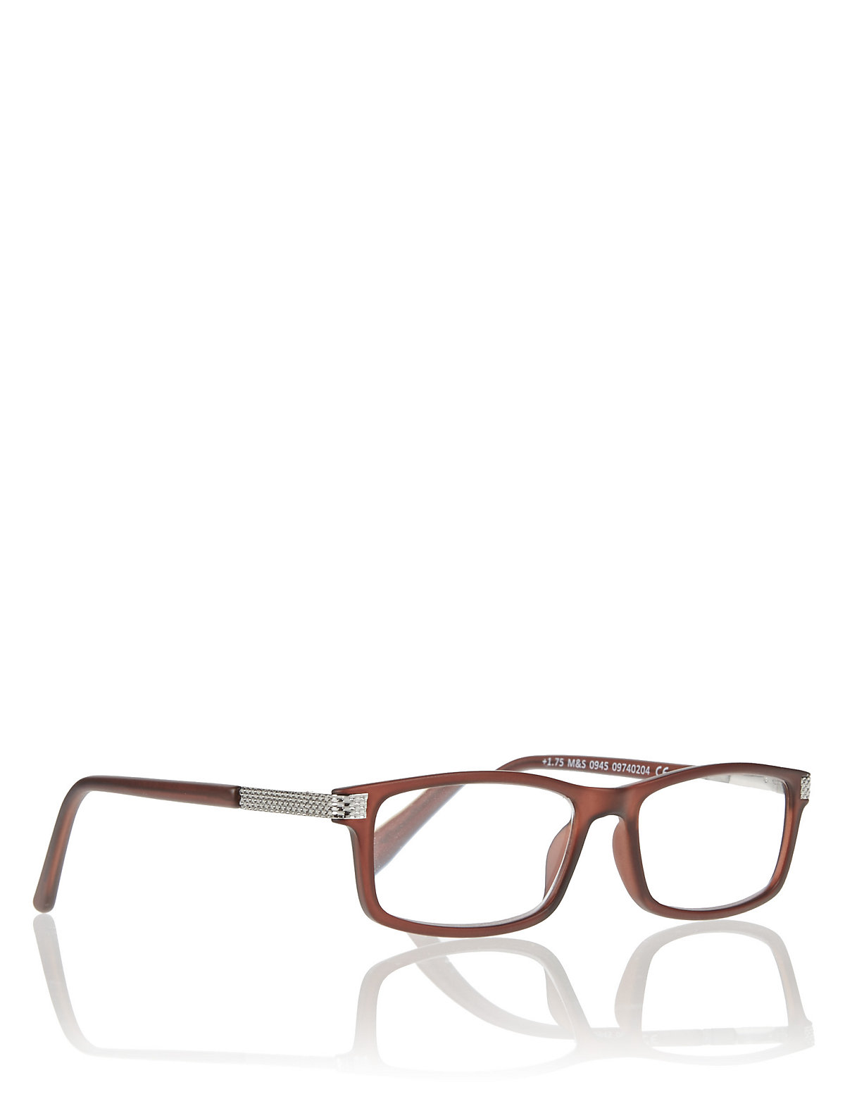 M&S Collection Rectangle Frame Reading Glasses