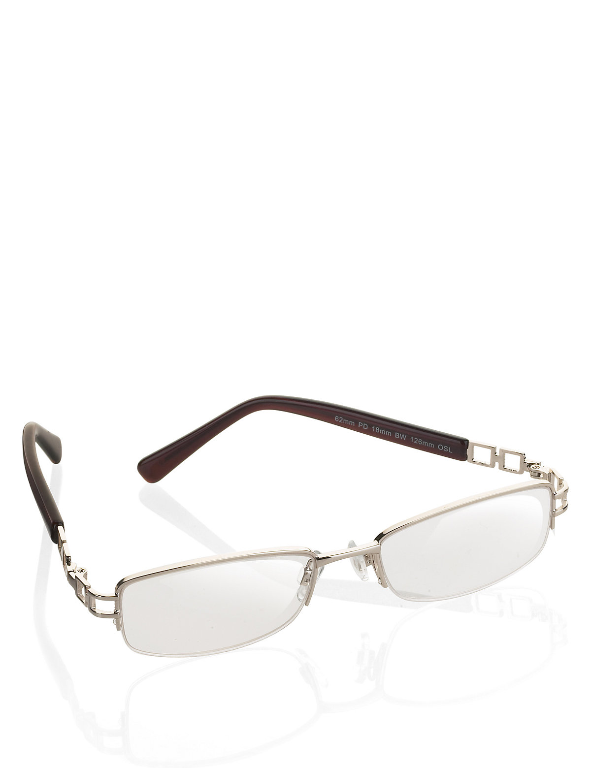 M&S Collection Half Frame Reading Glasses