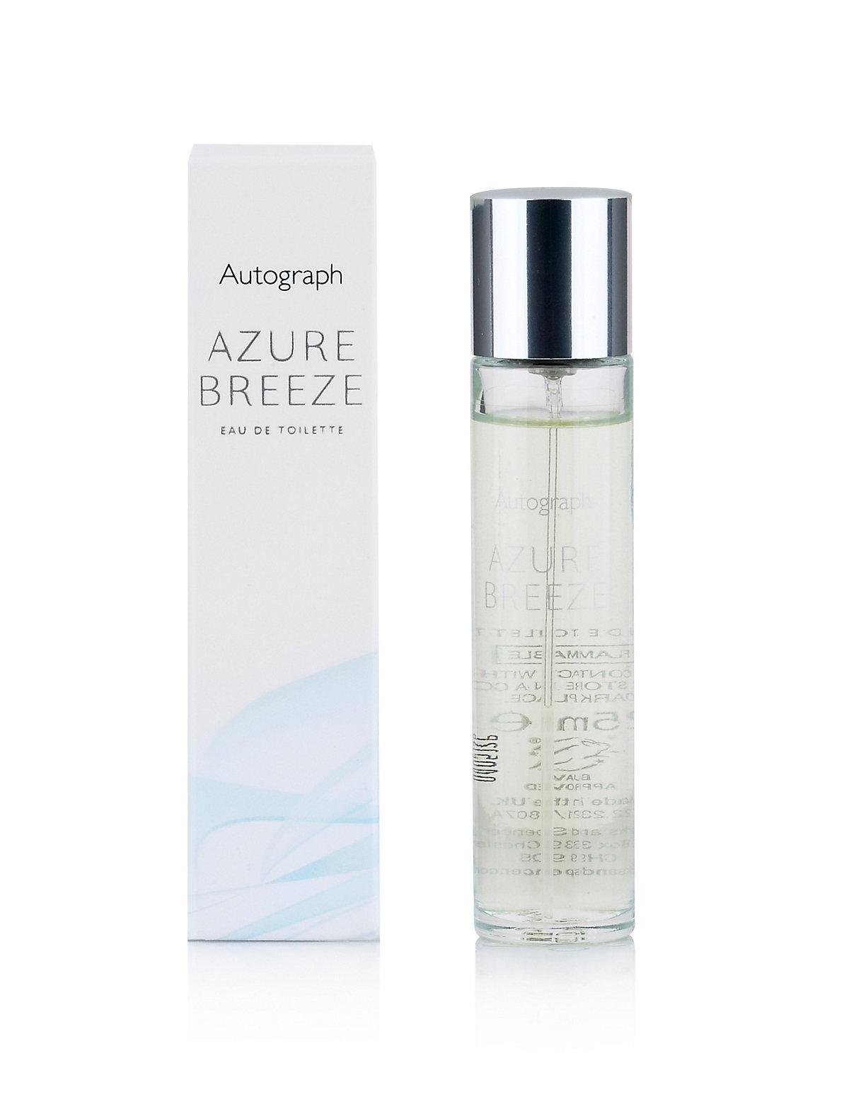 Image of Autograph Azure Breeze Eau de Toilette Purse Spray 25ml