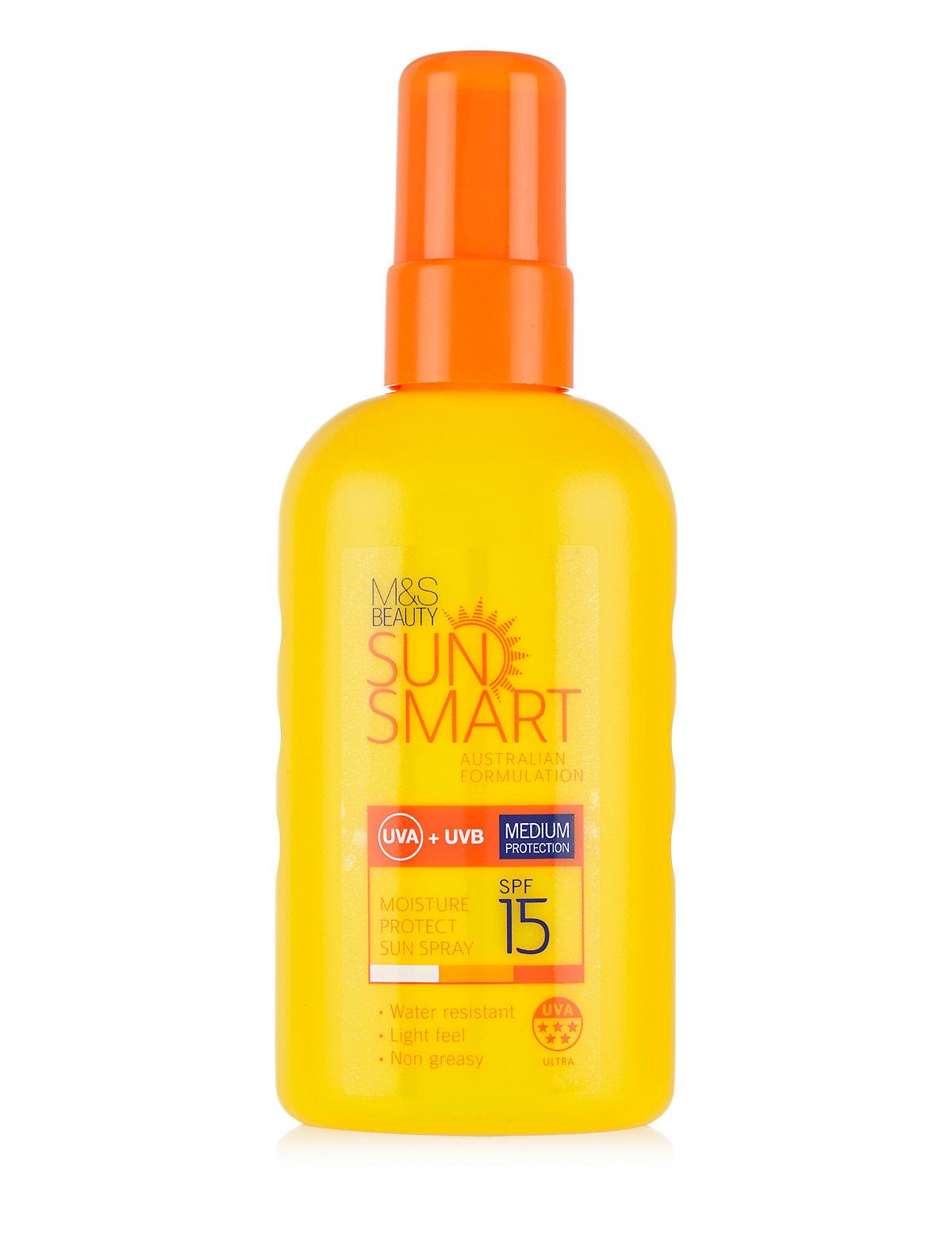 Image of Sun Smart Moisture Protect SPF15 Sun Spray 200ml