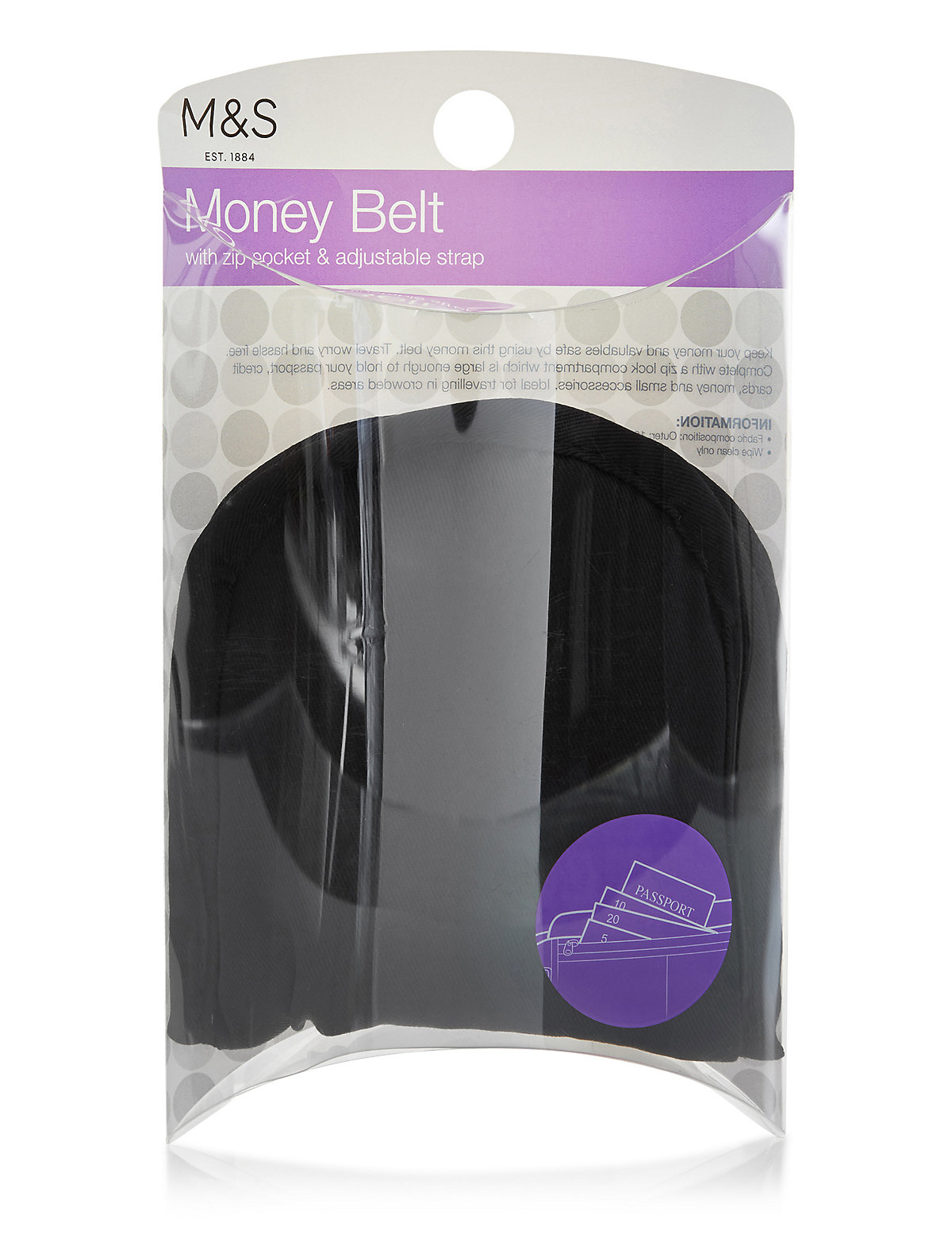 M&S Collection Money Belt