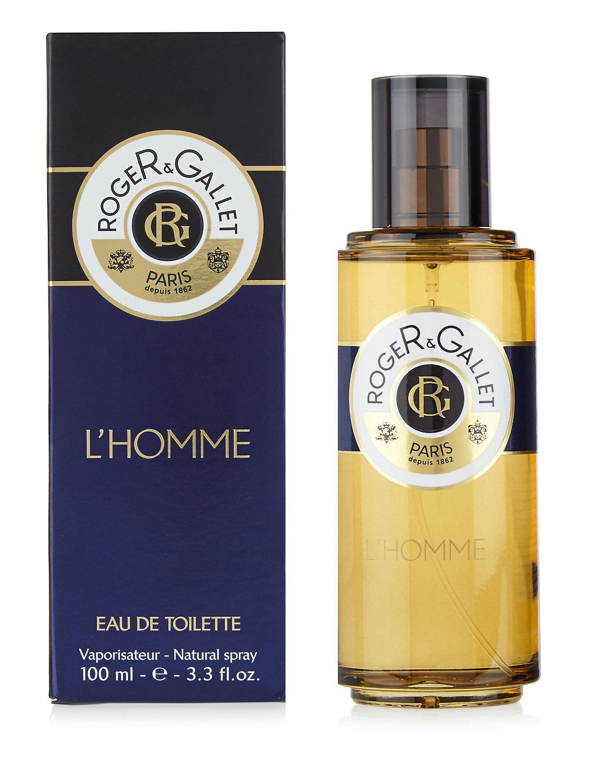 Roger&Gallet LHomme Eau de Toilette Natural Spray 100ml