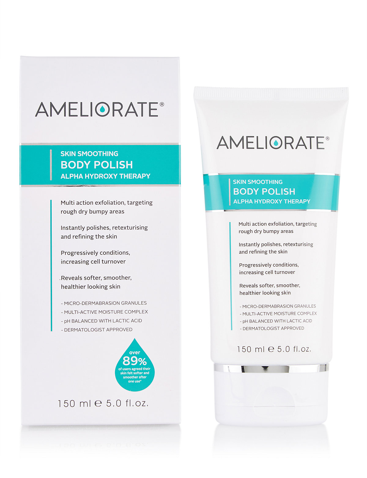 Ameliorate Body Polish 150ml